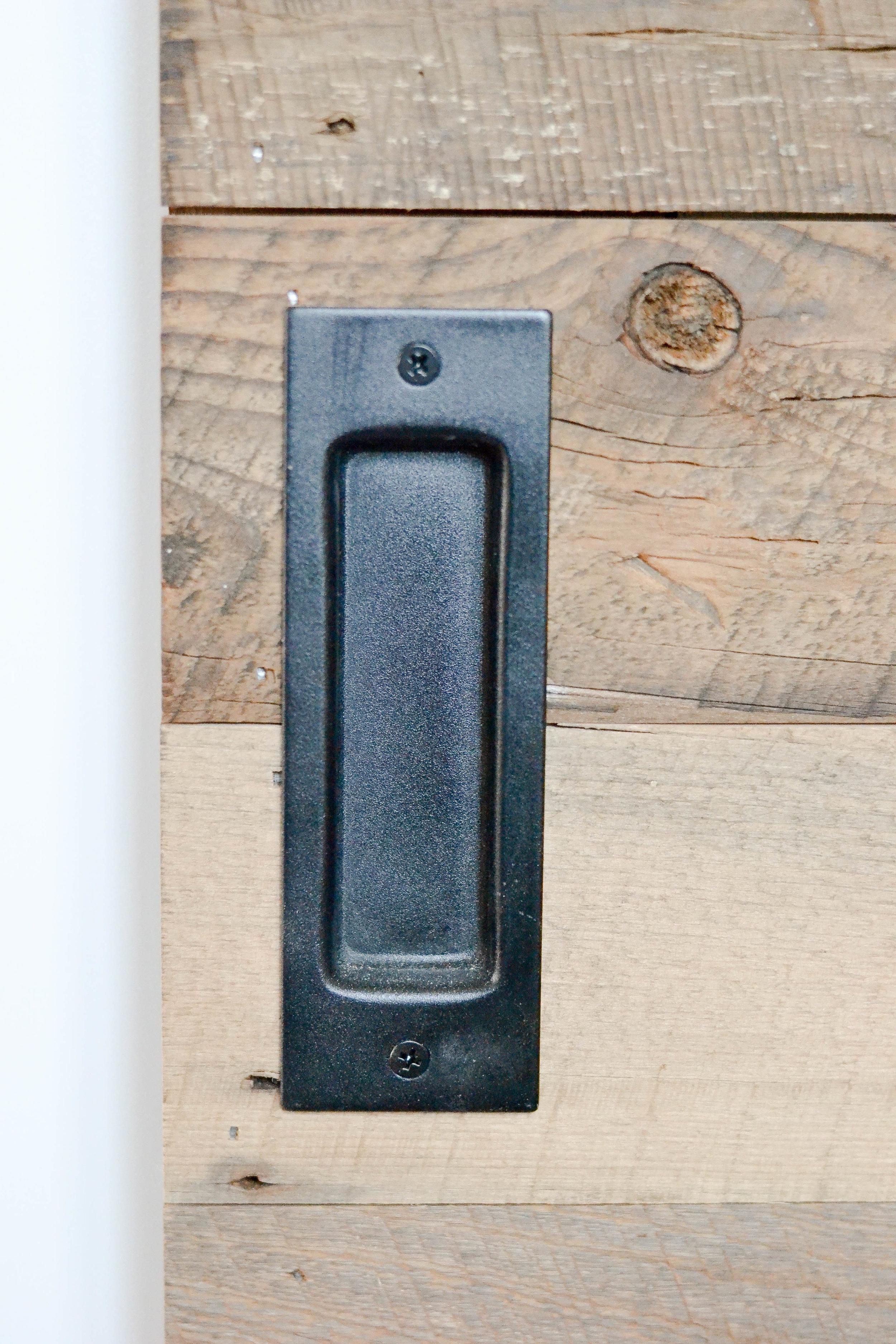 Gray Oak Studio Pilgrim Project Office barn door hardware