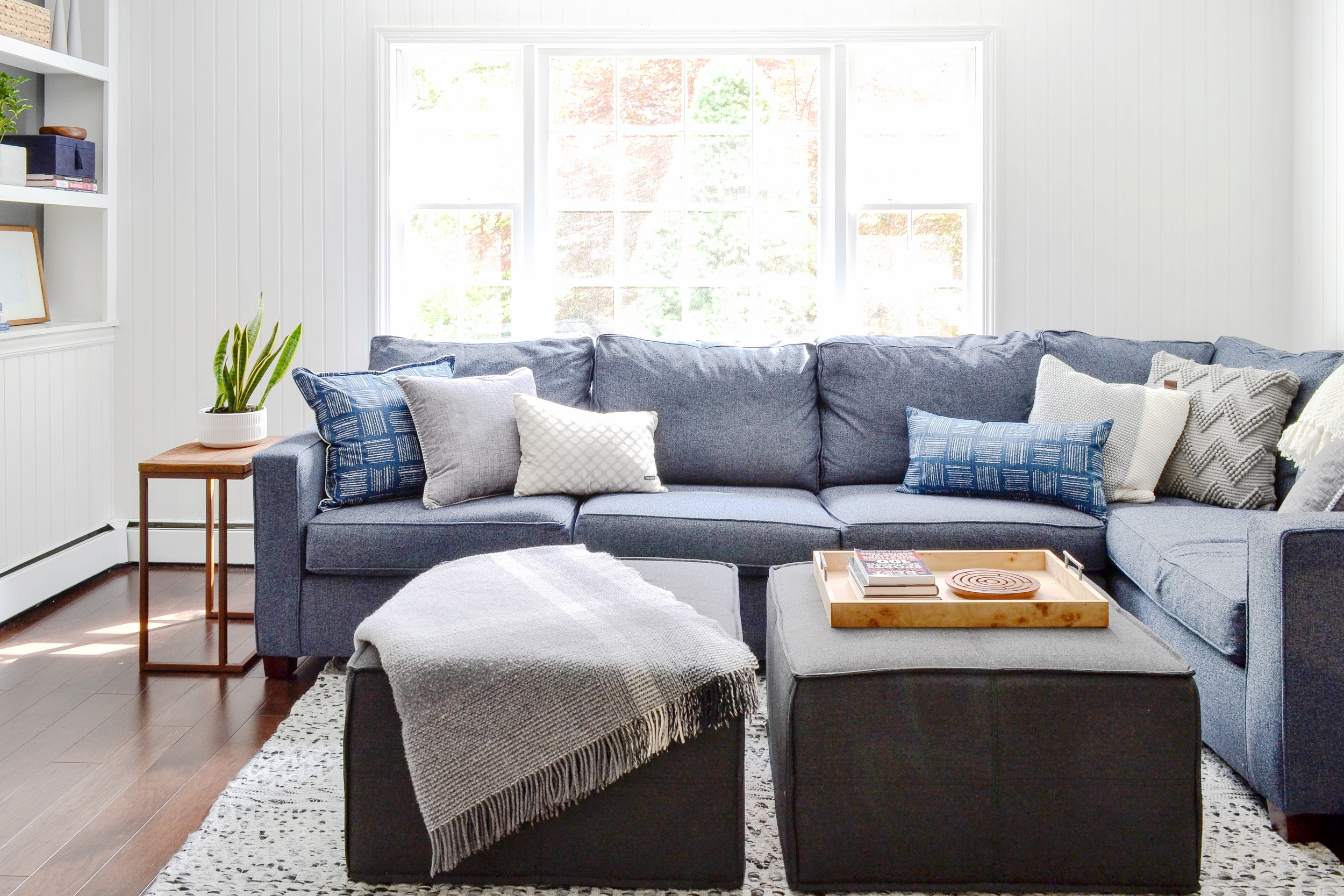 Gray Oak Studio Mayberry Family Room Project