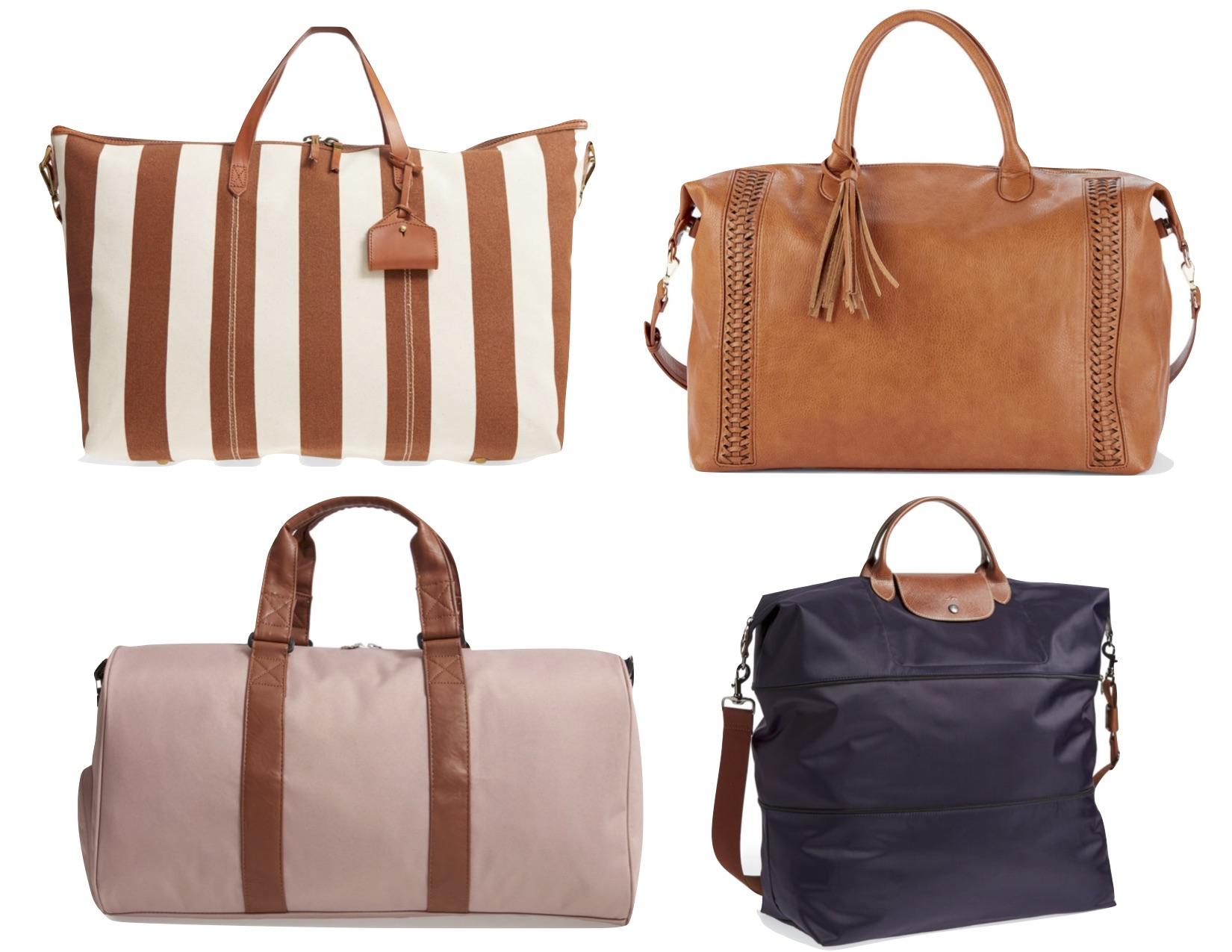 Gray Oak Studio - Weekend Travel Bag Roundup