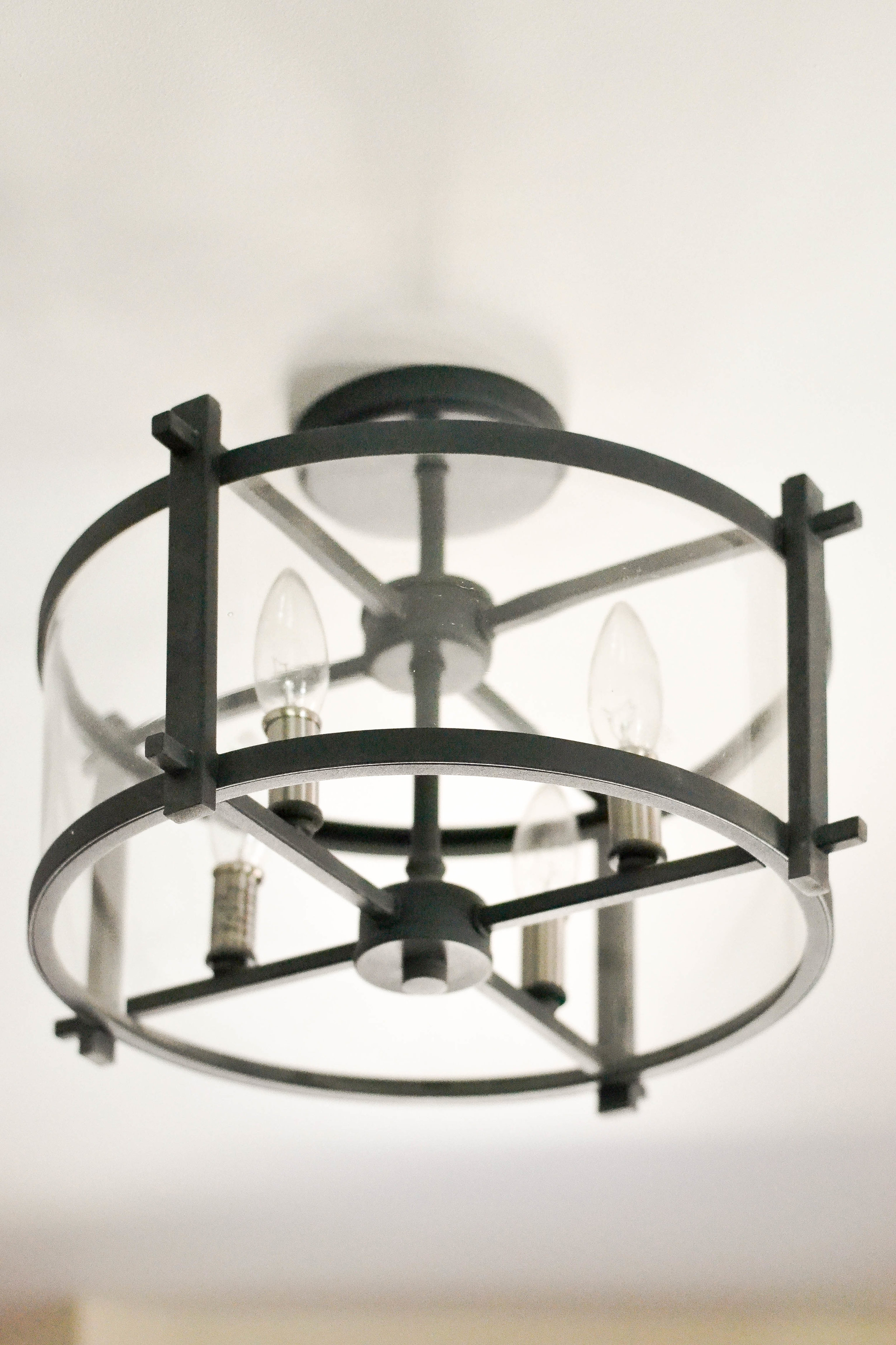 Gray Oak Studio - Pilgrim Project Mudroom light fixture