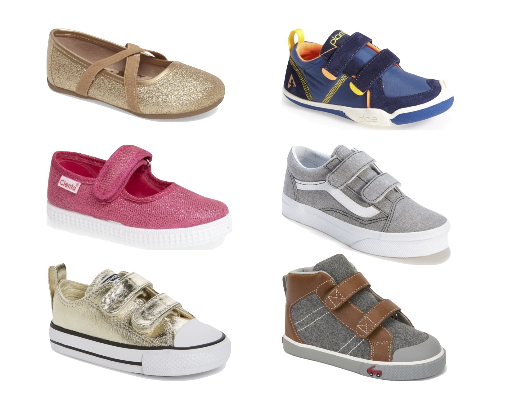 Gray Oak Studio Back to School Kids Shoes 2018
