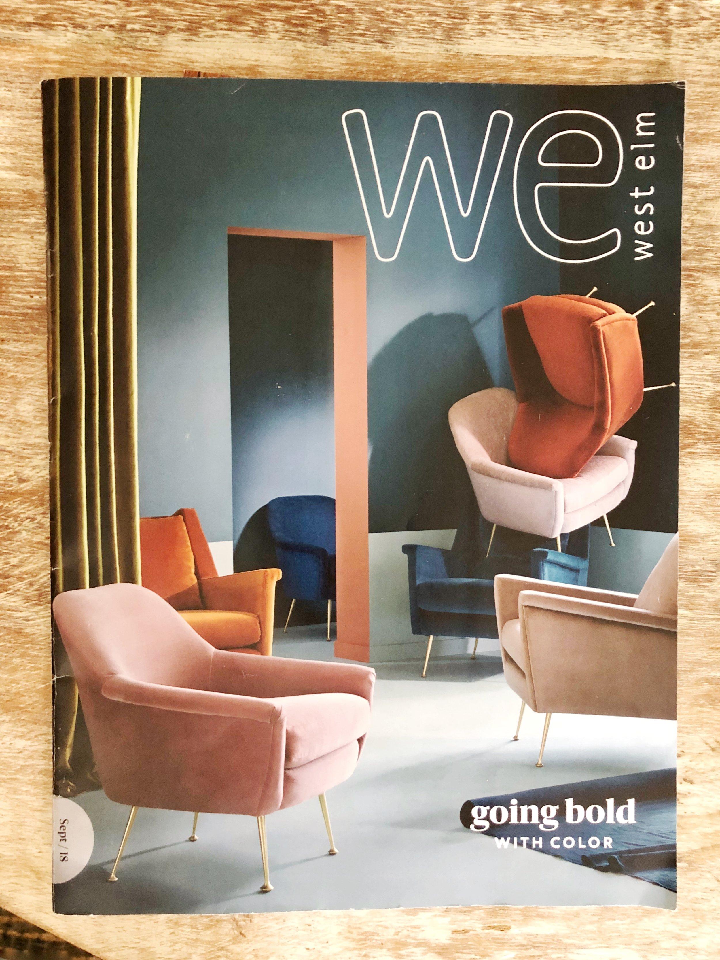 Gray Oak Studio - West Elm Catalog Cover Fall 2019