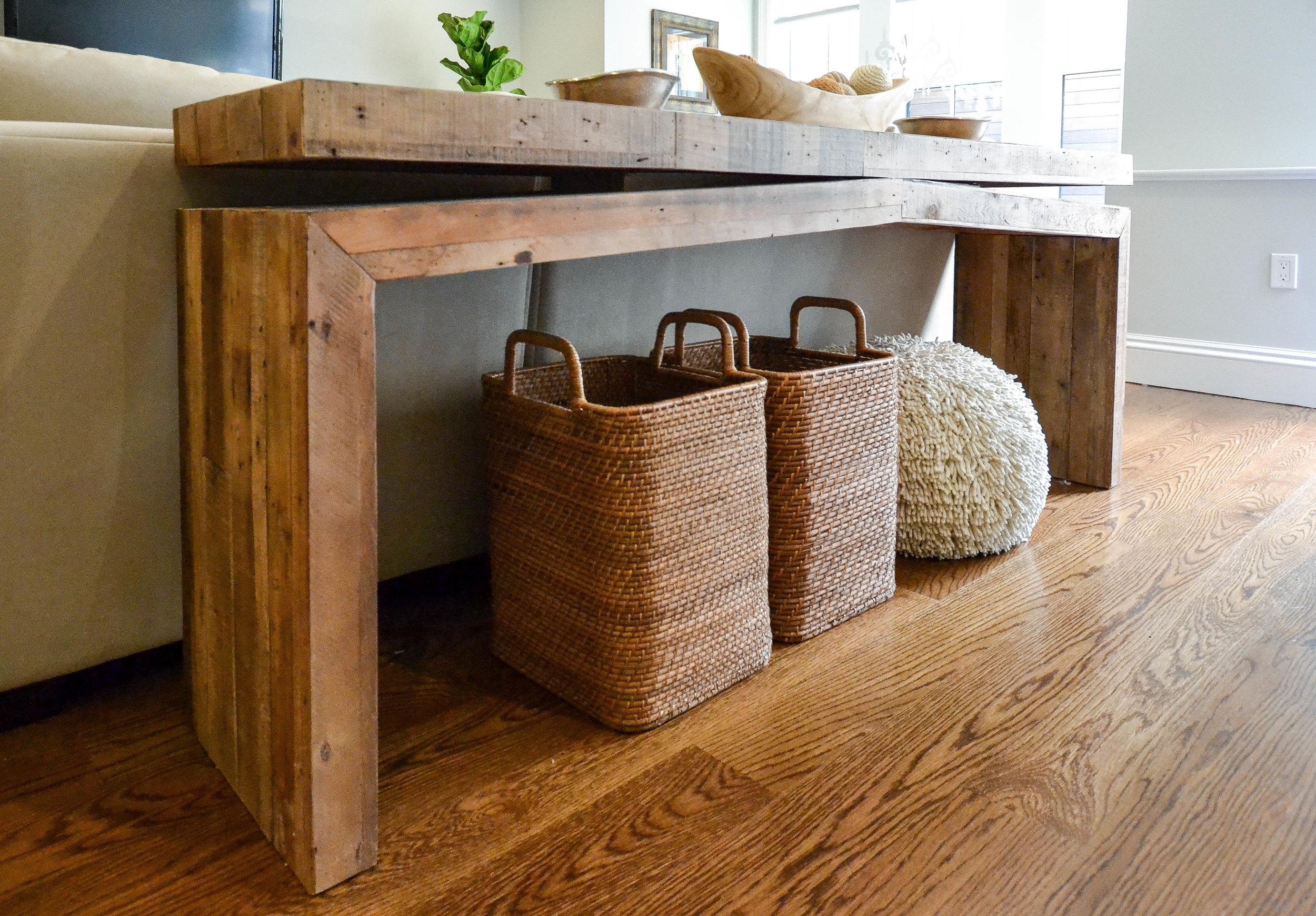 Gray Oak Studio Southend Project West Elm Baskets