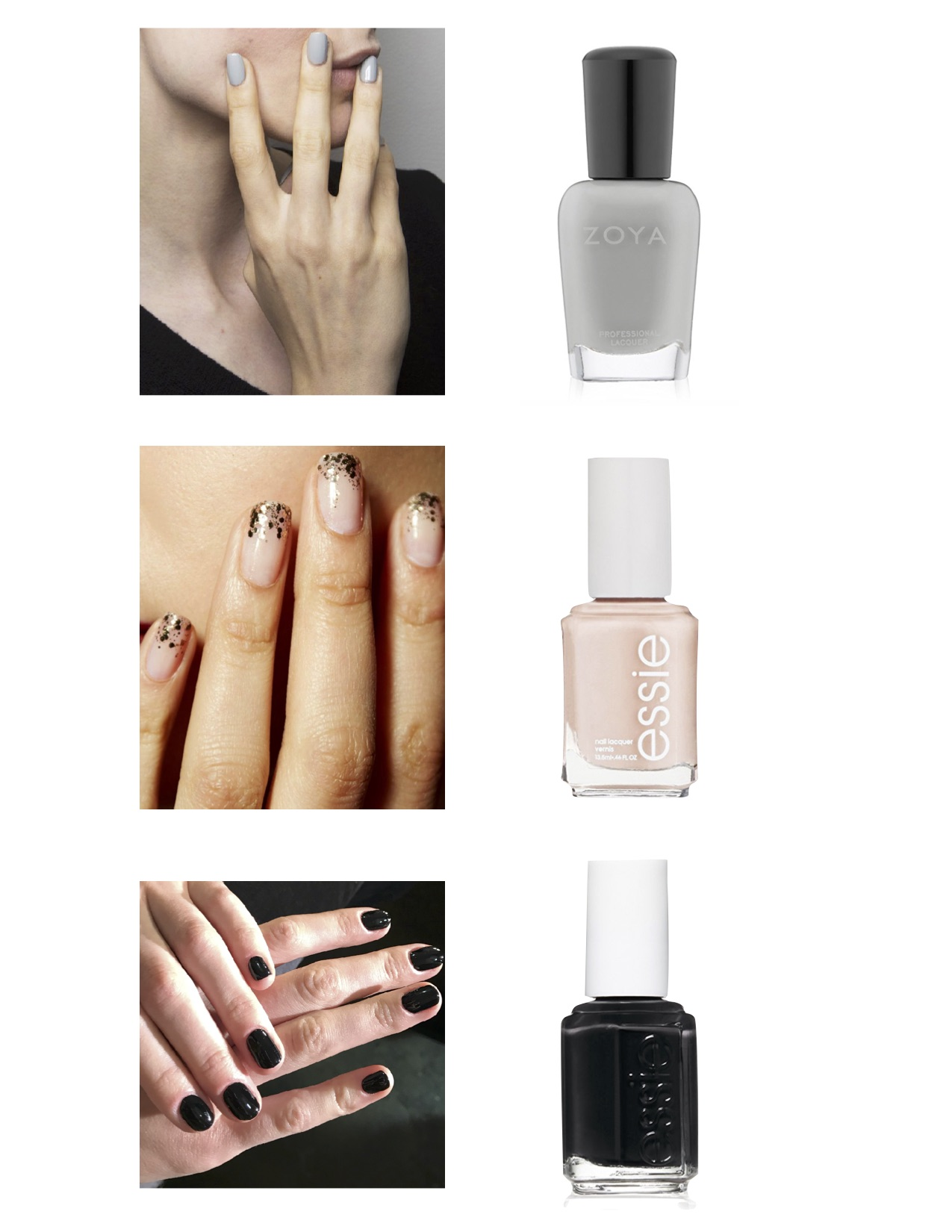 Gray Oak Studio - Fall 2018 nail polish trends