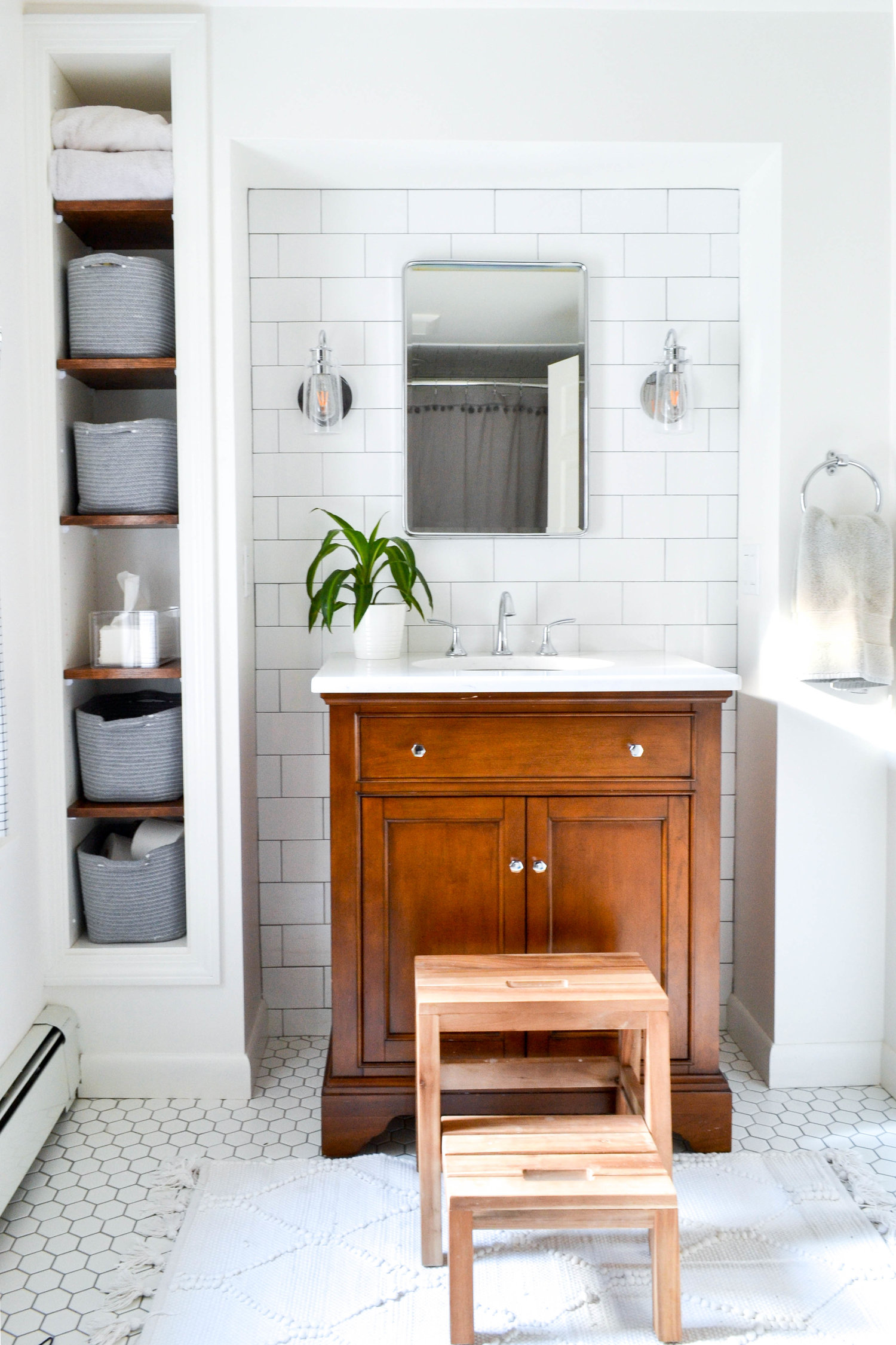 Gray Oak Studio - Bathroom feature on Studio McGee