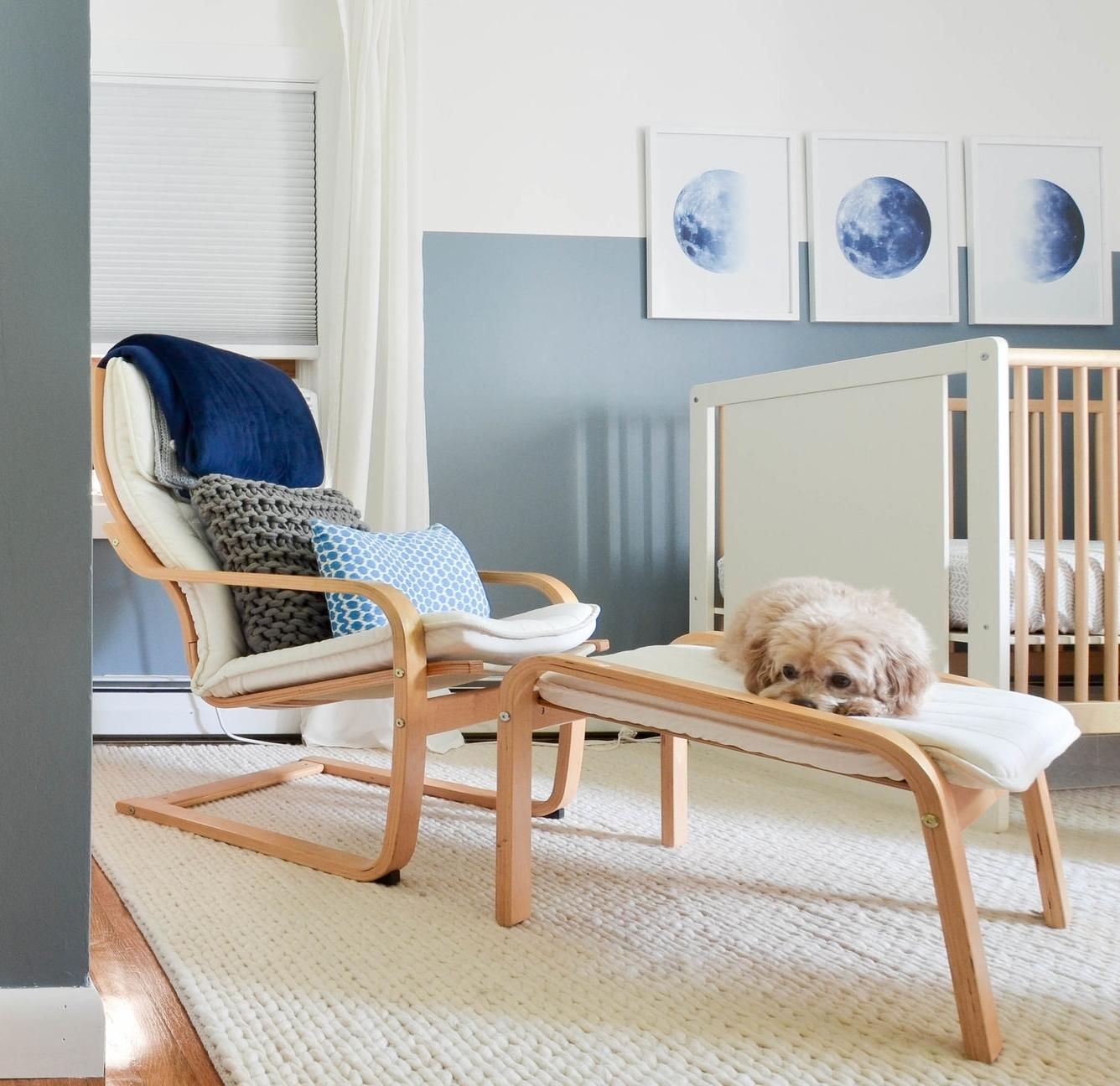 Gray Oak Studio - Nursery Rug White Chunky Knit