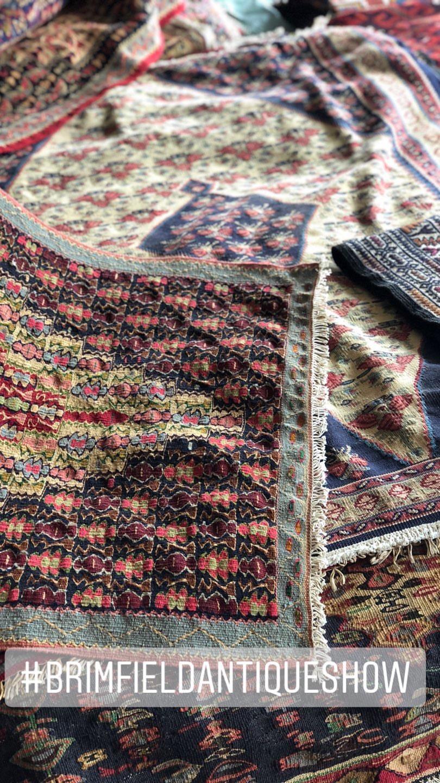Gray Oak Studio - Brimfield Antique Flea Market - Antique rugs