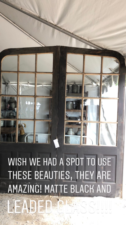 Gray Oak Studio - Brimfield Antique Flea Market - Doors
