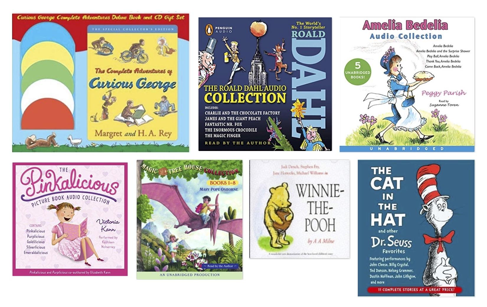 Gray Oak Studio - Wednesday Five - Road Trip with Kids - Audio Books