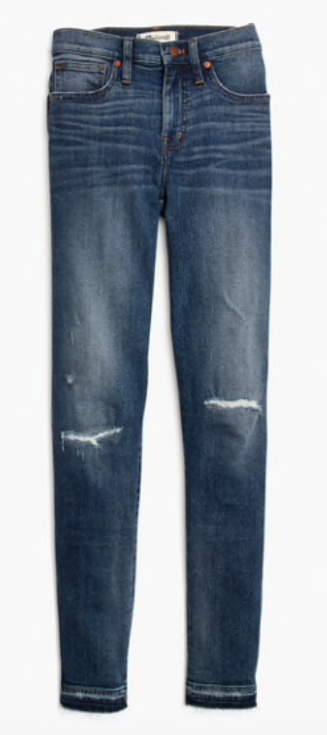 Gray Oak Studio - Wednesday Five - Favorite Madewell Jeans