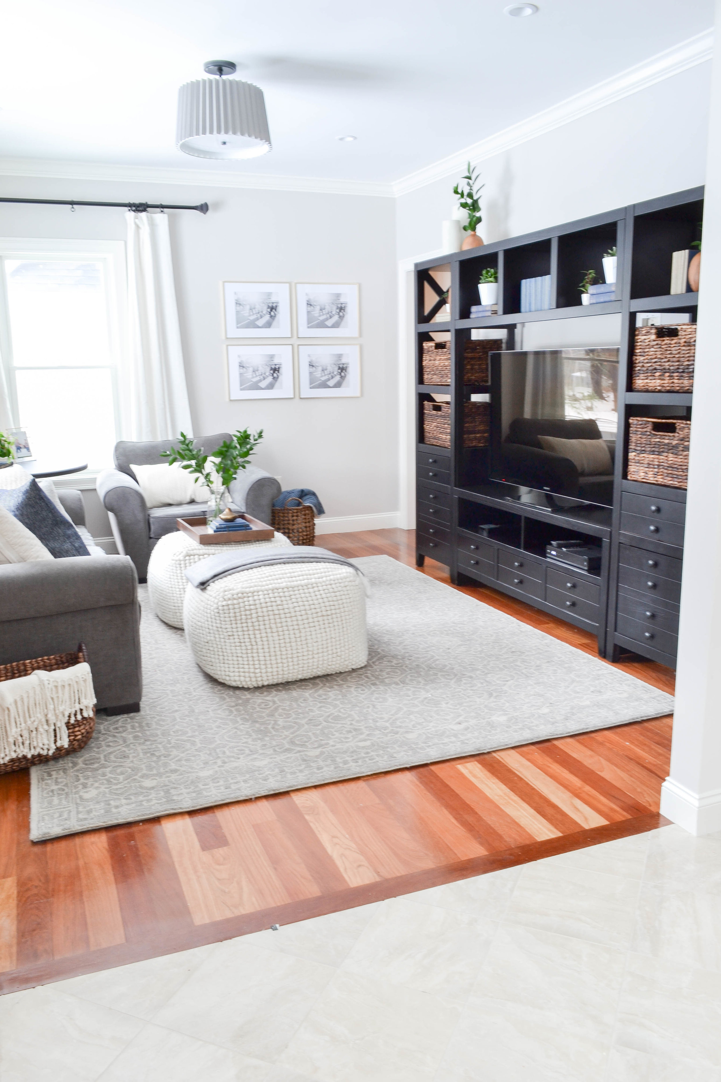Gray Oak Studio - Hutchins Project family room reveal