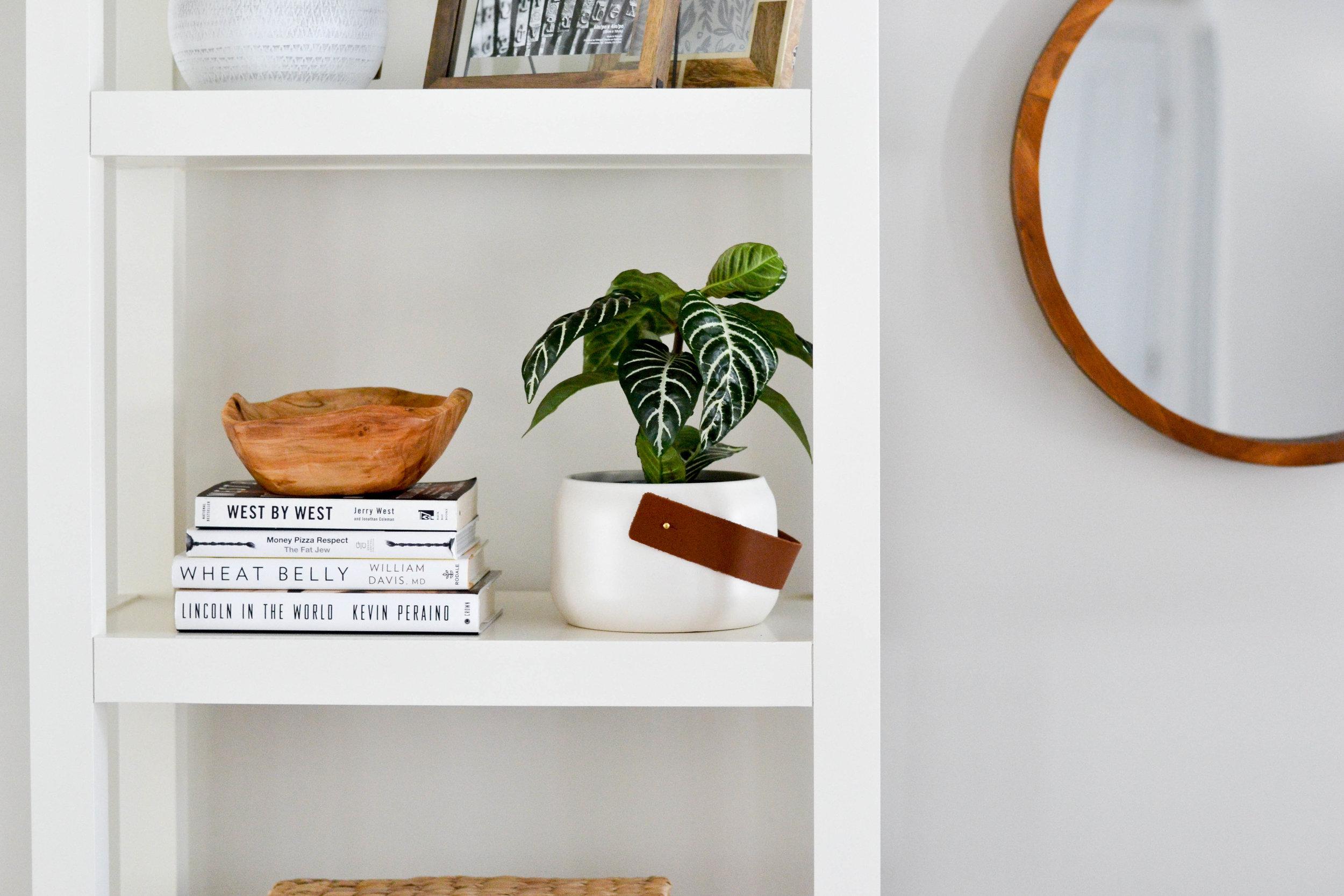 Gray Oak Studio - Lowell Project Living Room - Bookshelf