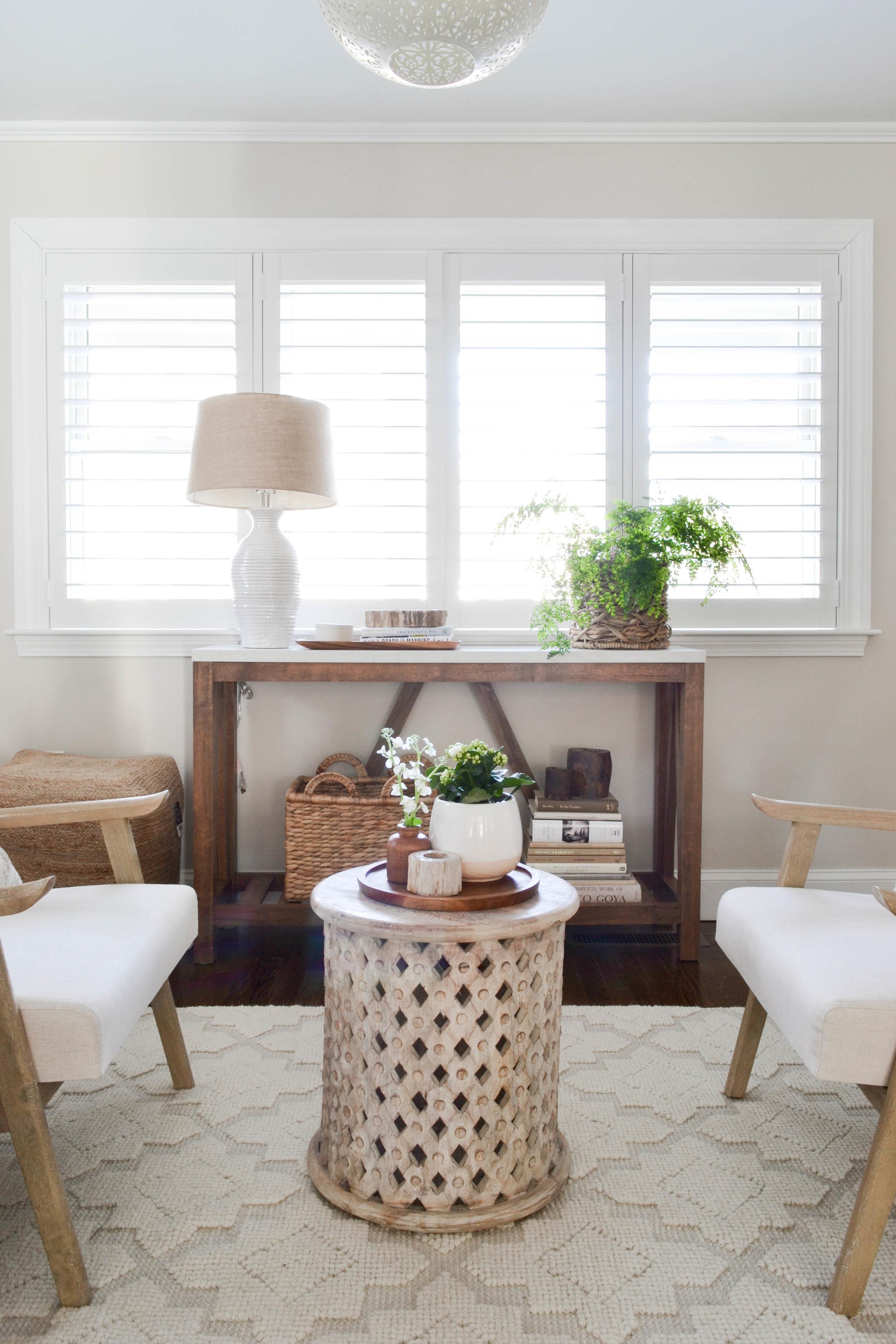 Gray Oak Studio - Lowell Project Living Room - Sitting Room