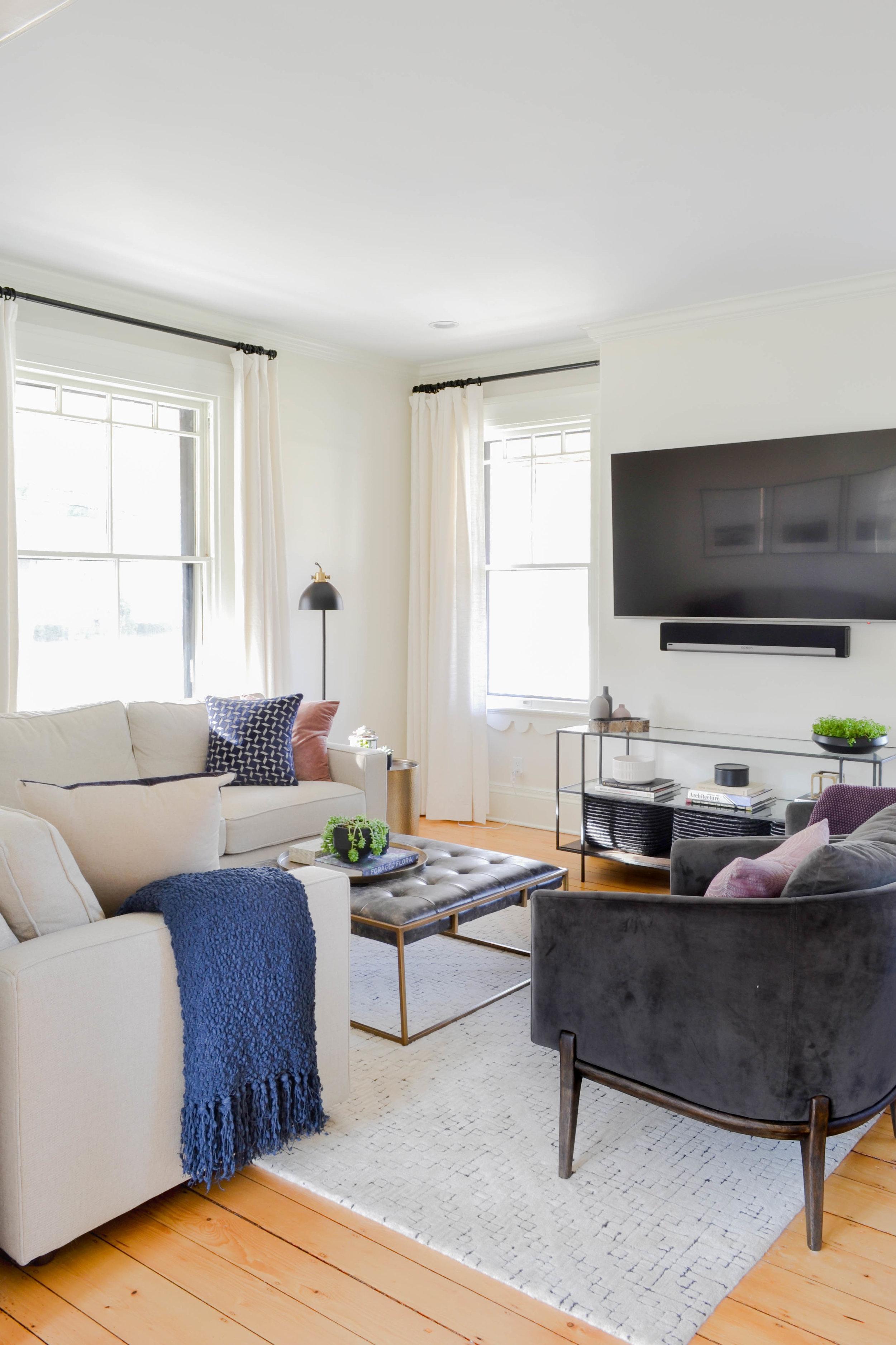 Gray Oak Studio - Dover Project Living Room