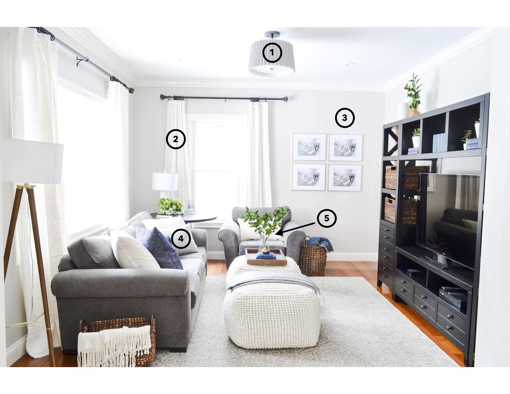 5 Steps to Updating your Family Room