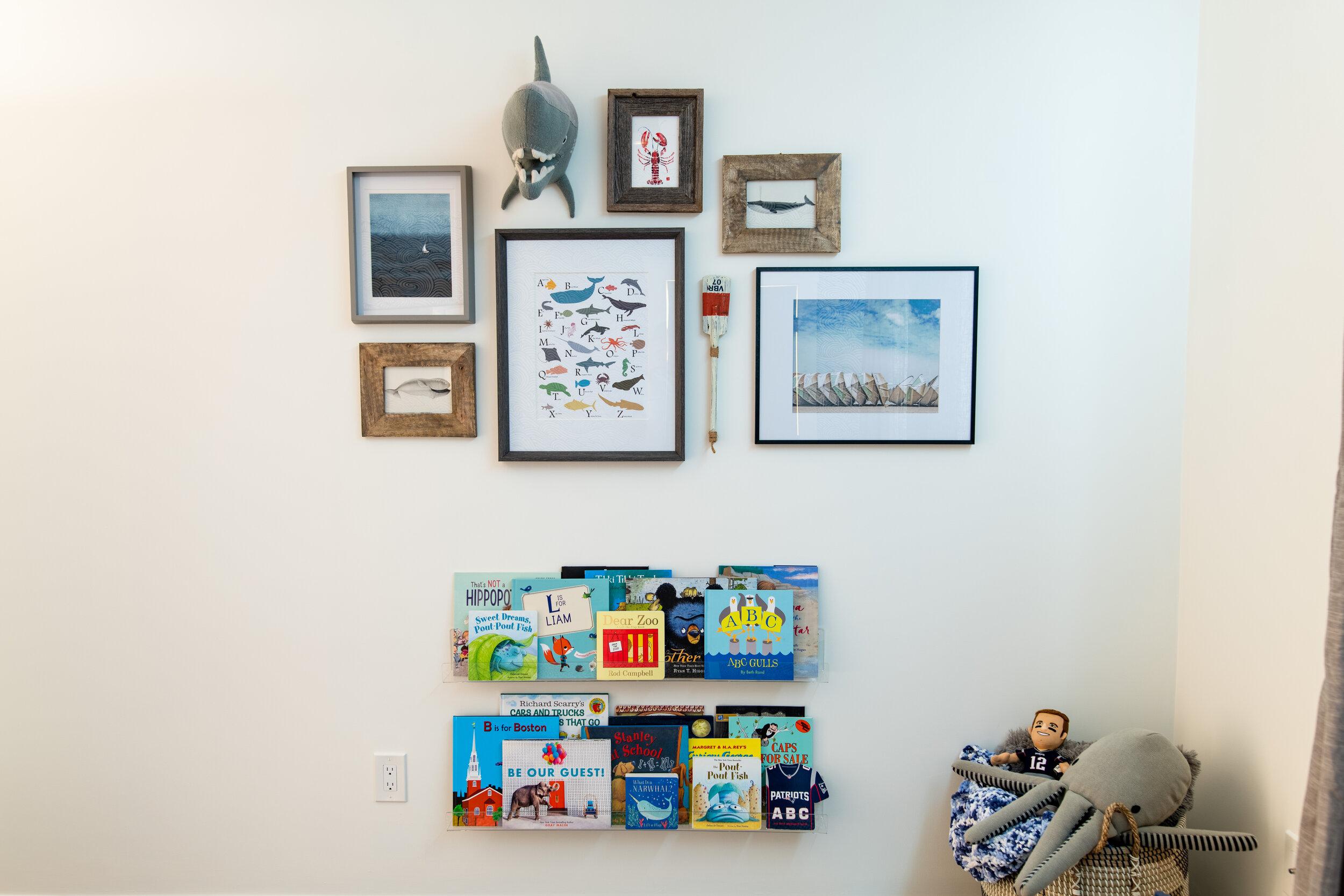 Gray Oak Studio - Prospect Project - Little Boy's Ocean Bedroom