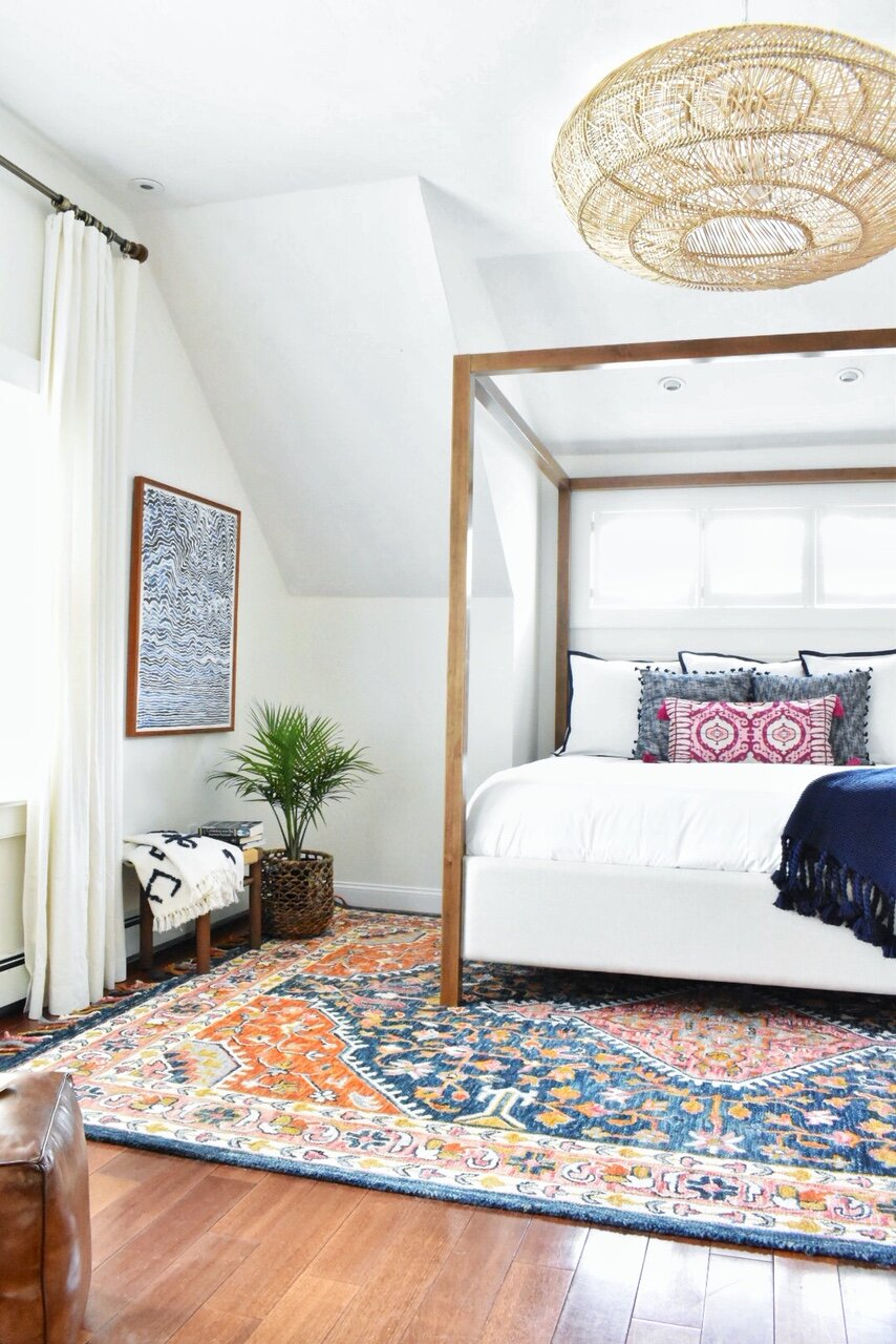 Gray Oak Studio - Master Bedroom Boho Modern