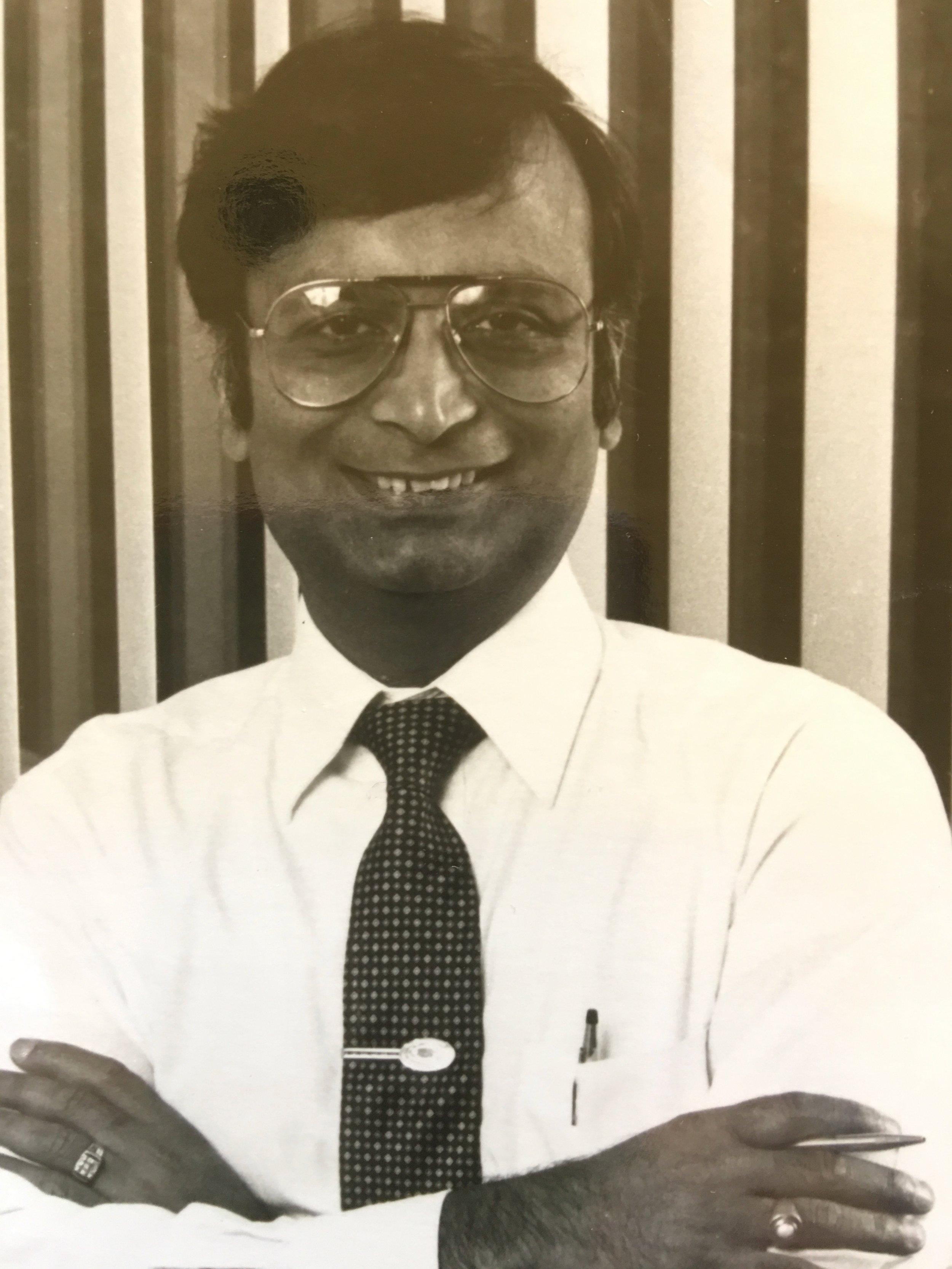Prabhu Goel at Gateway  (Photo is provided as a courtesy to The $8 Man by Prabhu Goel)