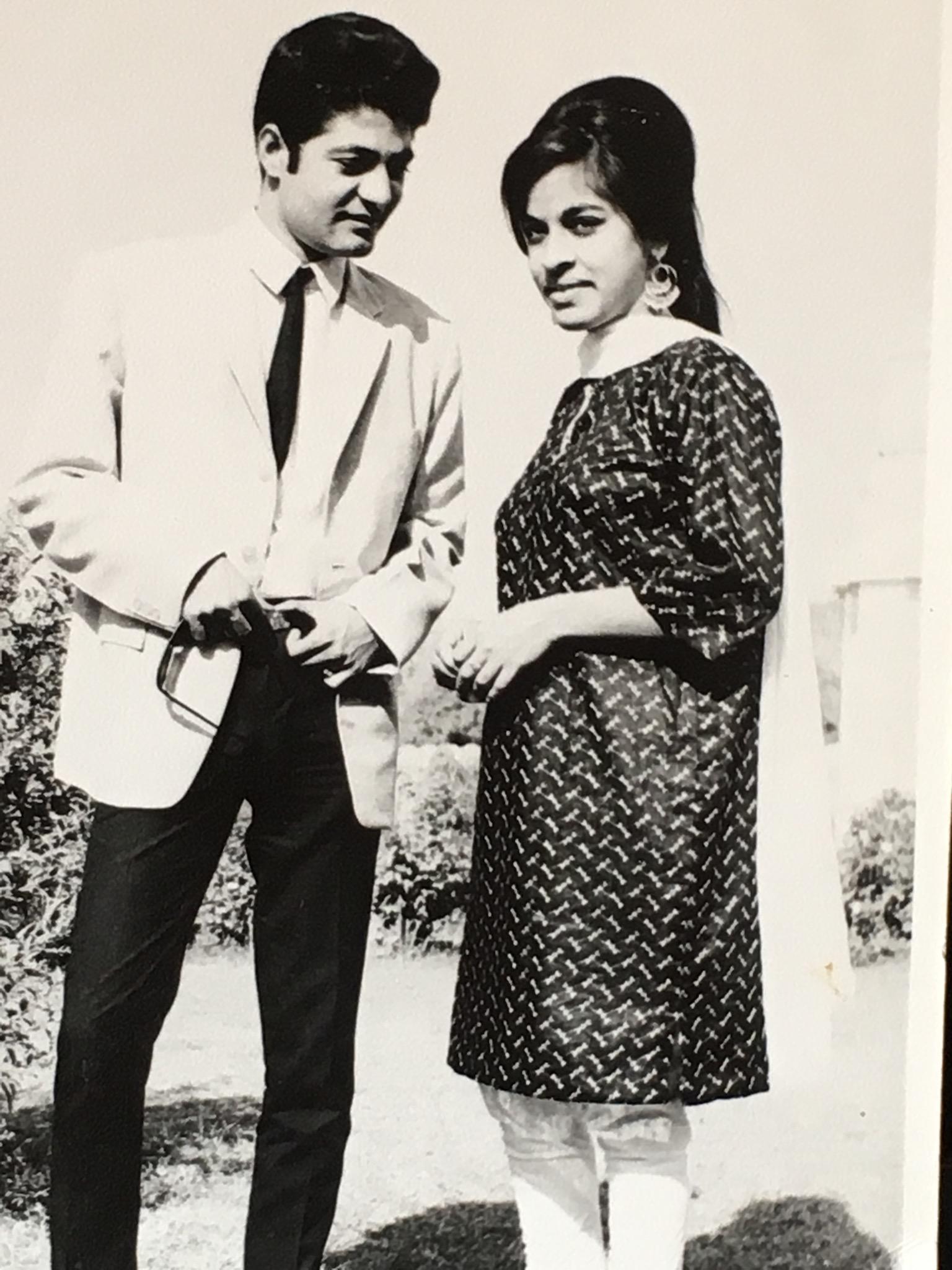 Sat and Padma Mahajan  (Photo is provided as a courtesy to The $8 Man and is the property of Sat Mahajan)