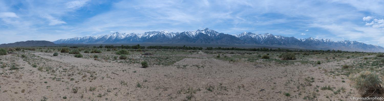 Sierra Vista Springtime -  Manzanar, California