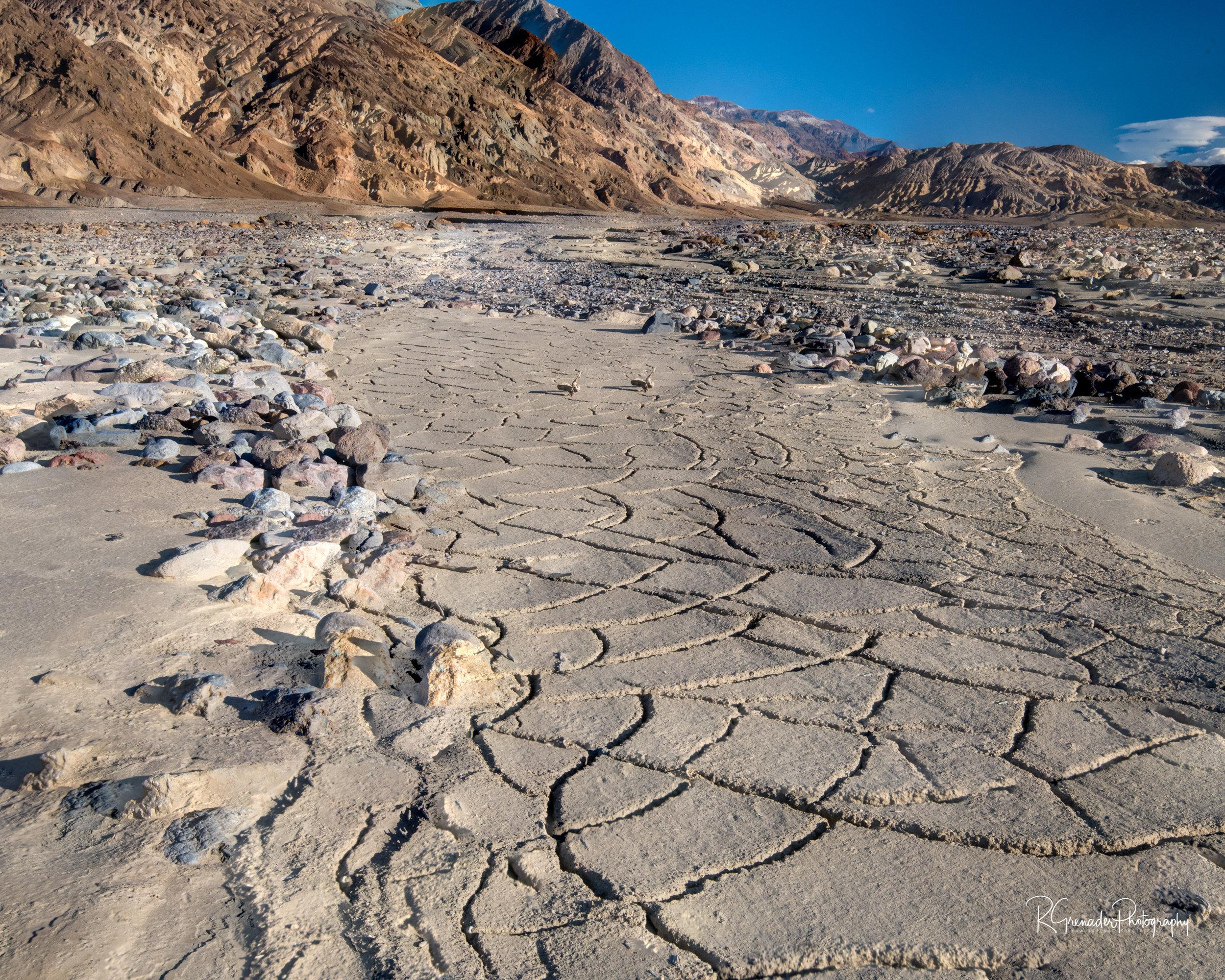 Mudflats Death Valley, Ca