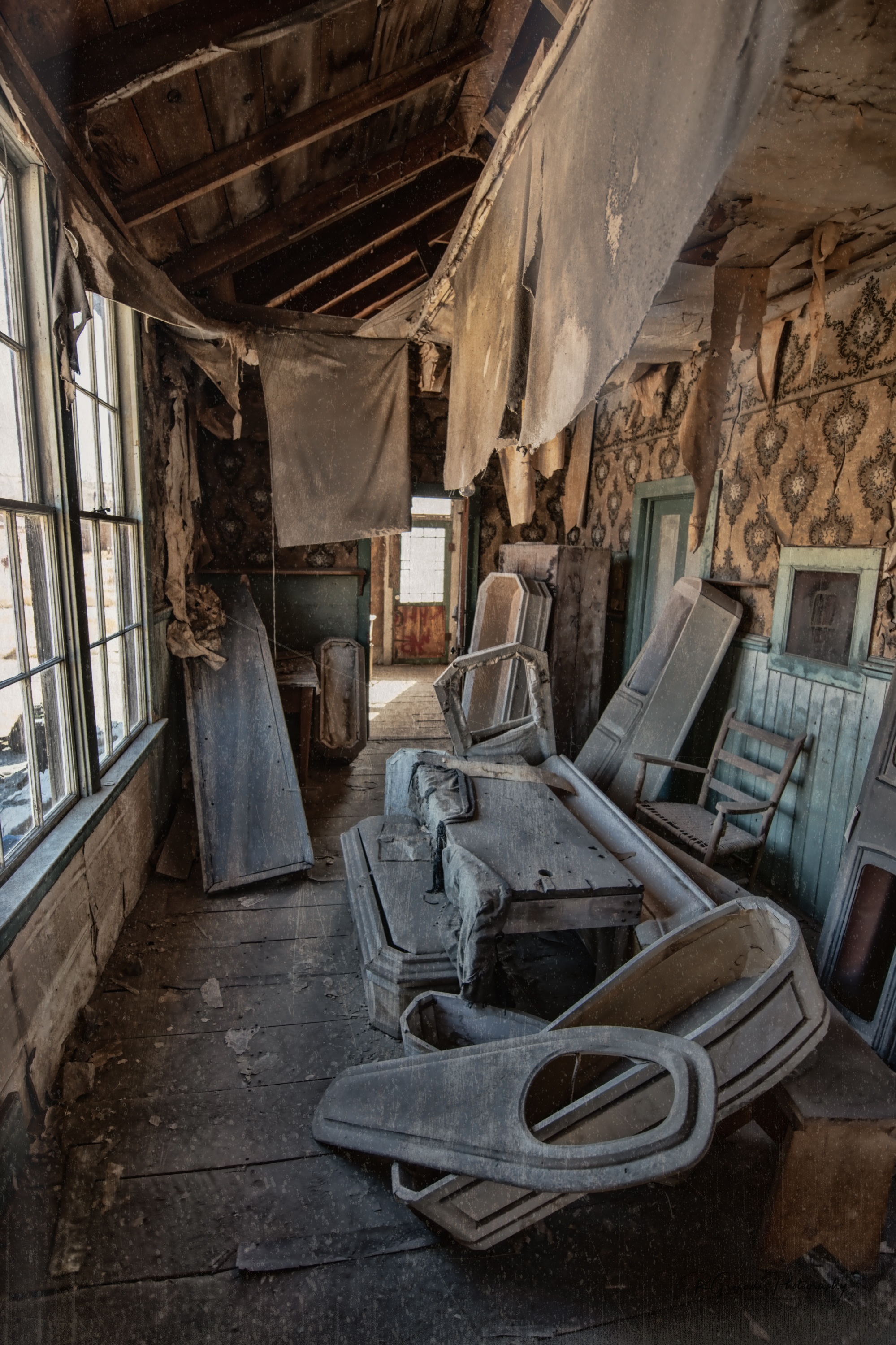 Interior Undertaker's Office Bodie, California