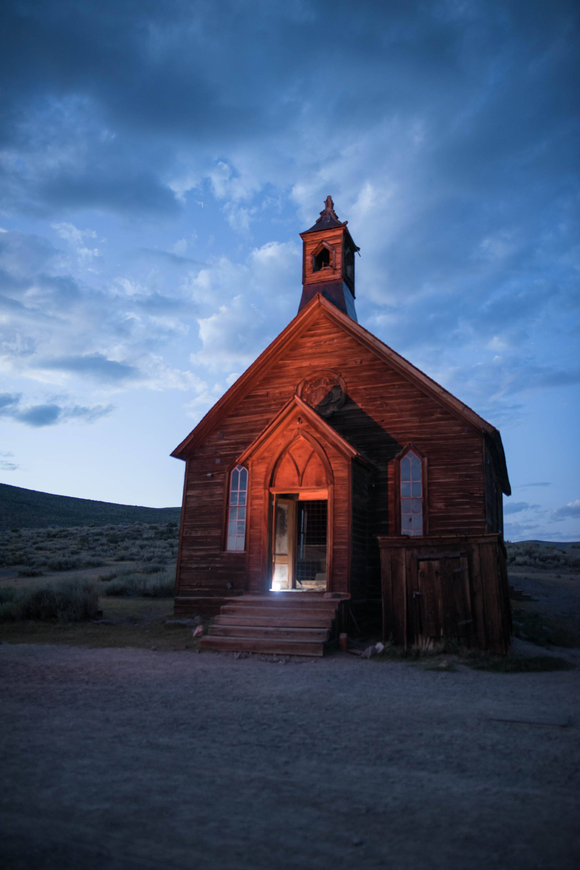 Bodie Methodist Church Bodie, California