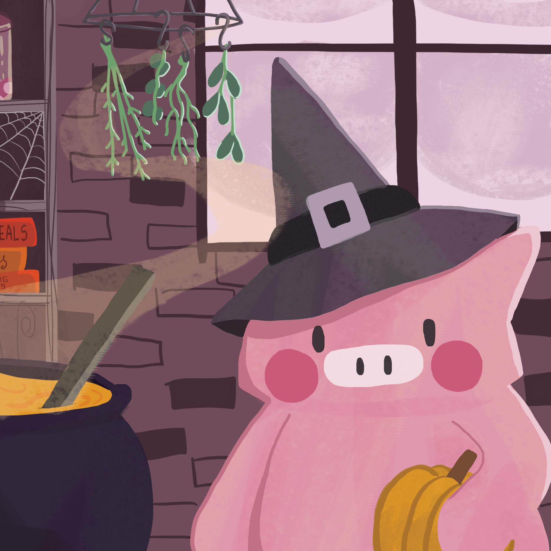 Little Piggy Recipe Cards