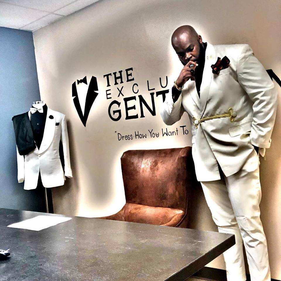 The Exclusive Gentleman - Fashion Show: KitokoThe Exclusive Gentleman Clothier Specializes in Custom Suits, shirts and Accessories, and the Cigar LifestyleCountry of origin/country represented: Nigeria
