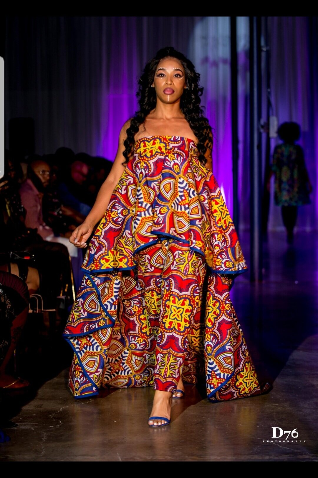 Kymareo - Fashion Show: Kitoko| Fashion Designer | | Seamstress | design by KymareoCountry of origin/country represented: United States of America