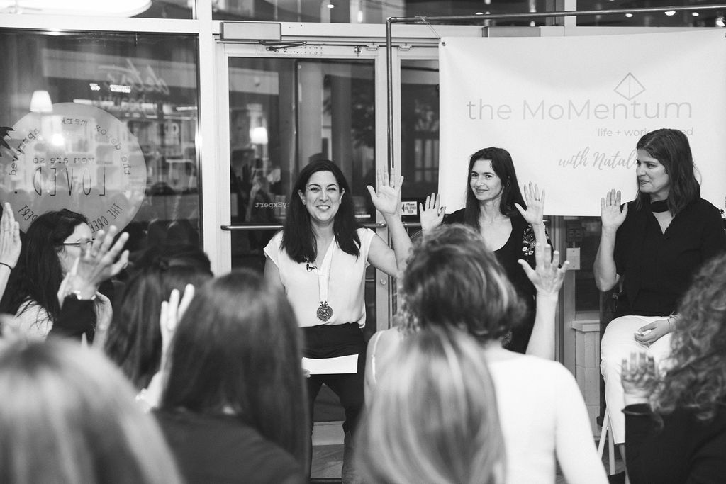 The MoMentum Talks - Hear from inspiring and successful leaders - who happen to be moms - about how they are owning it in life and work. Get new tools, connect with other working moms and discover new solutions for your current situation.