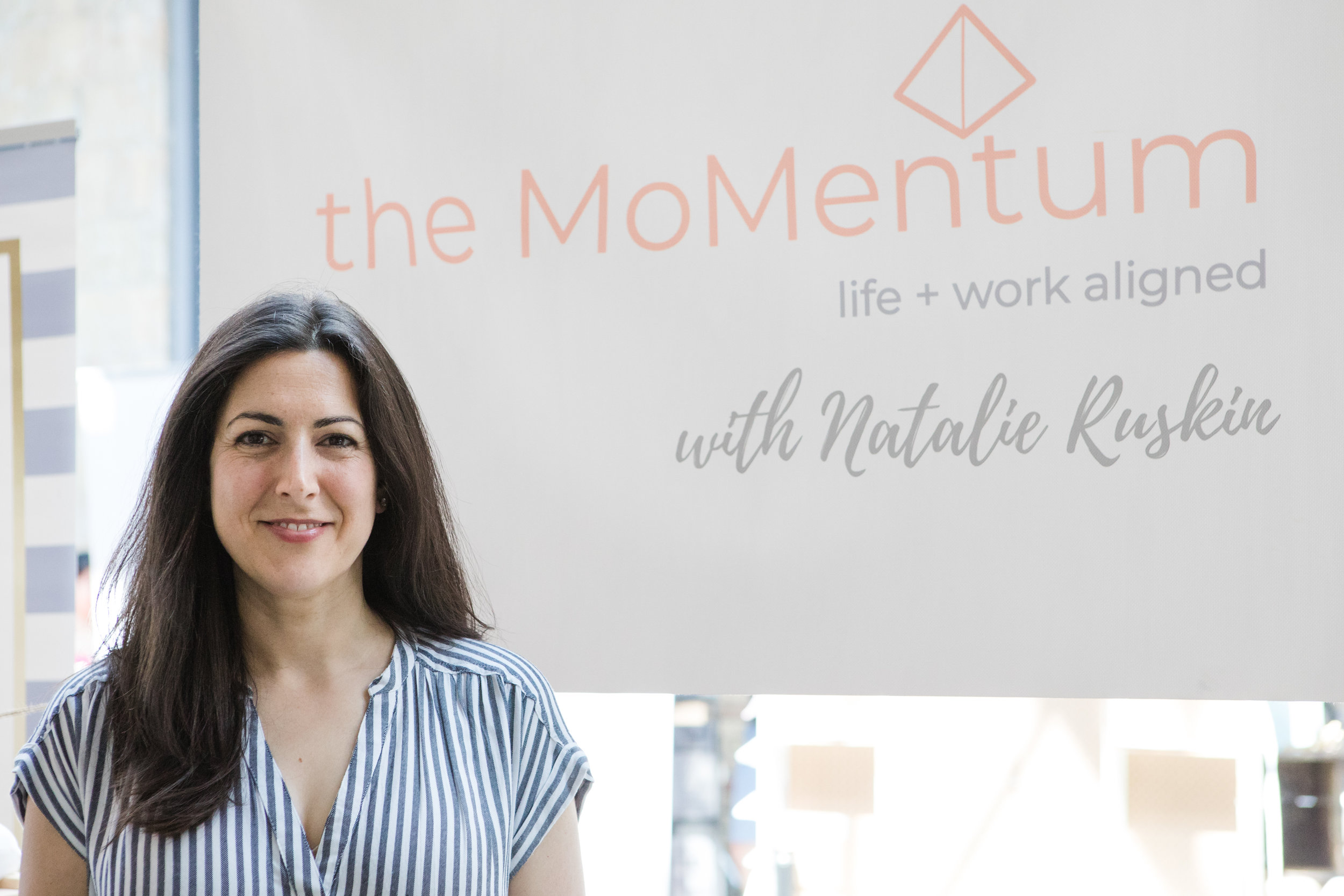 If you want a successful and sustainable work + life... - The MoMentum Coaching Program is ready for you.