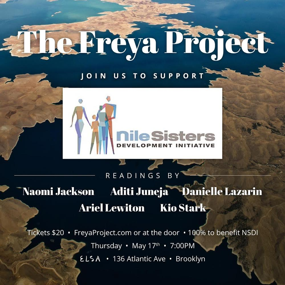 - Elsa Bar136 ATLANTIC AVE. BROOKLYN NY 112017 PMFundraiser in support of Nile Sisters Development InitiativeTickets available for purchase here  Bonus: Readers' book recs for young women over at Literary Hub