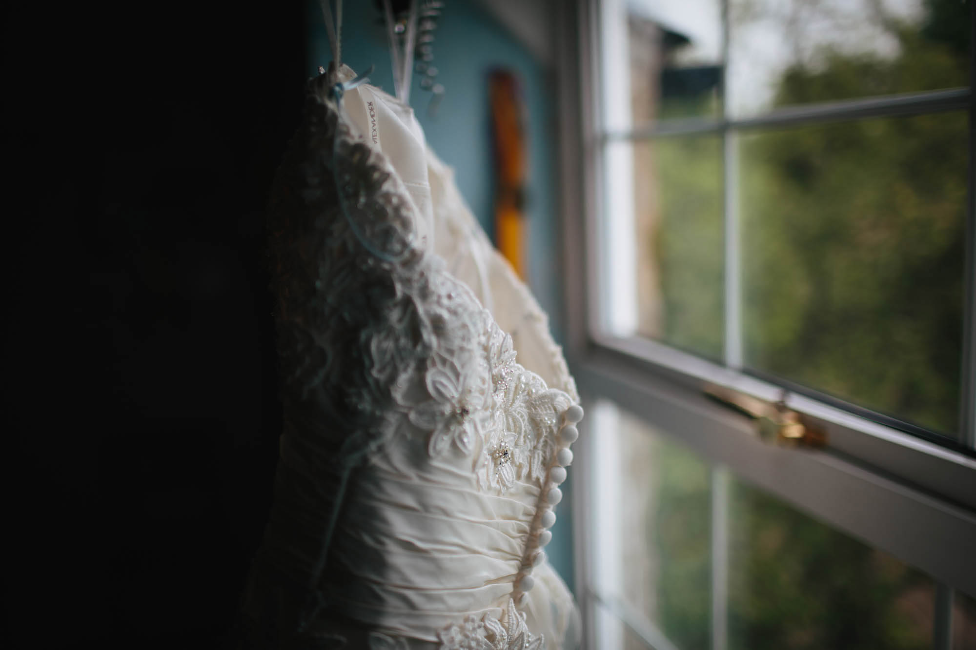Leeds Yorkshire Wedding Photographer Dress Bride