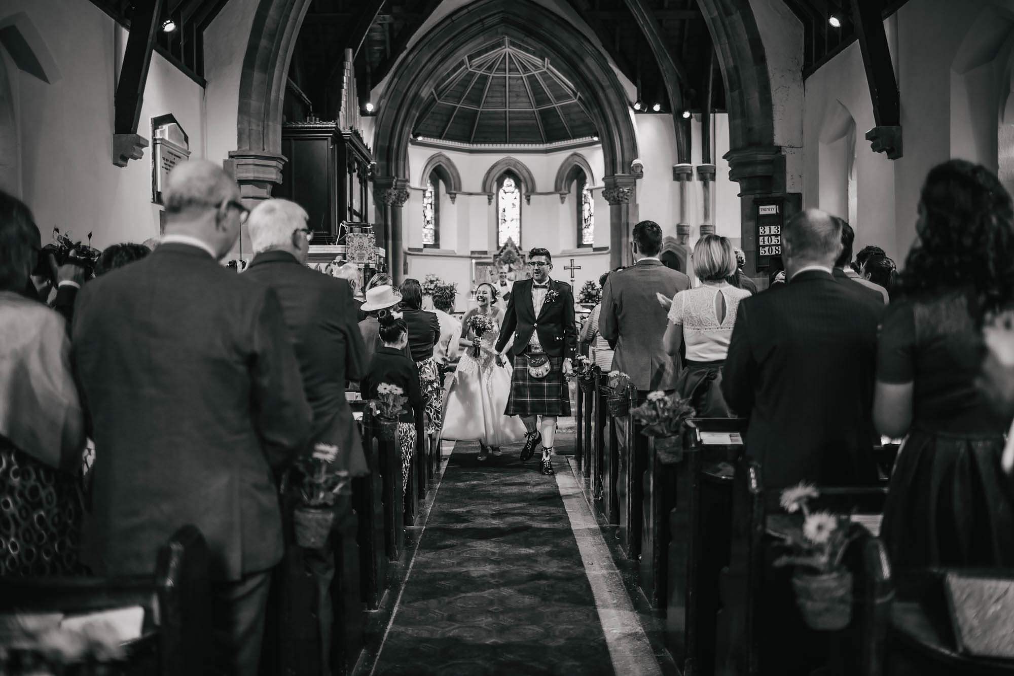 Leeds Yorkshire Wedding Photographer Bride Groom Church