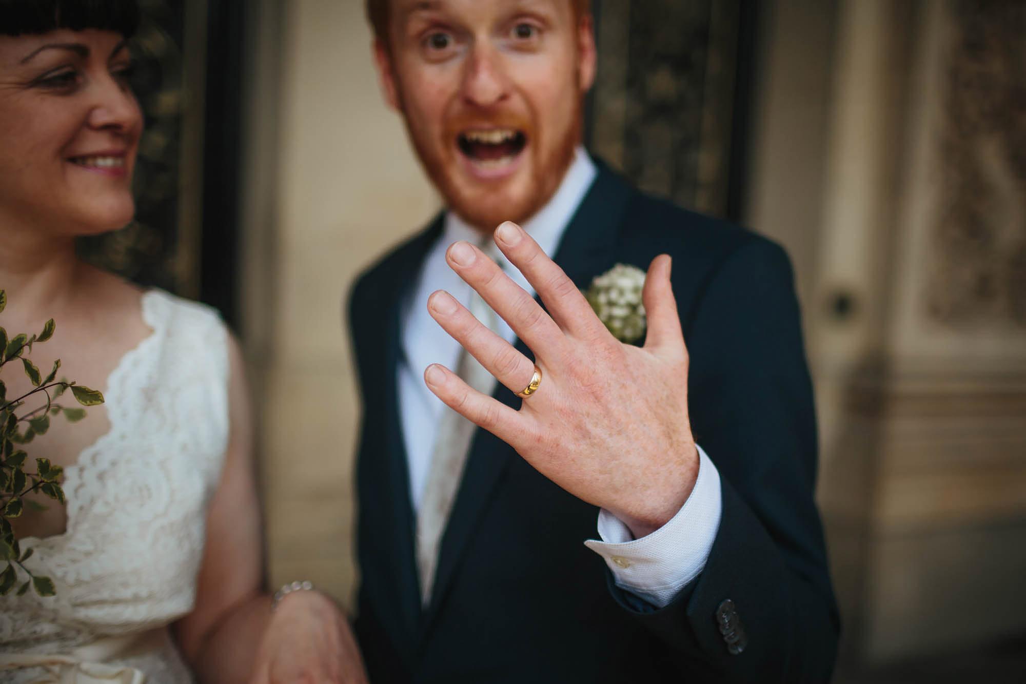 Leeds Yorkshire Wedding Photographer Ring Groom