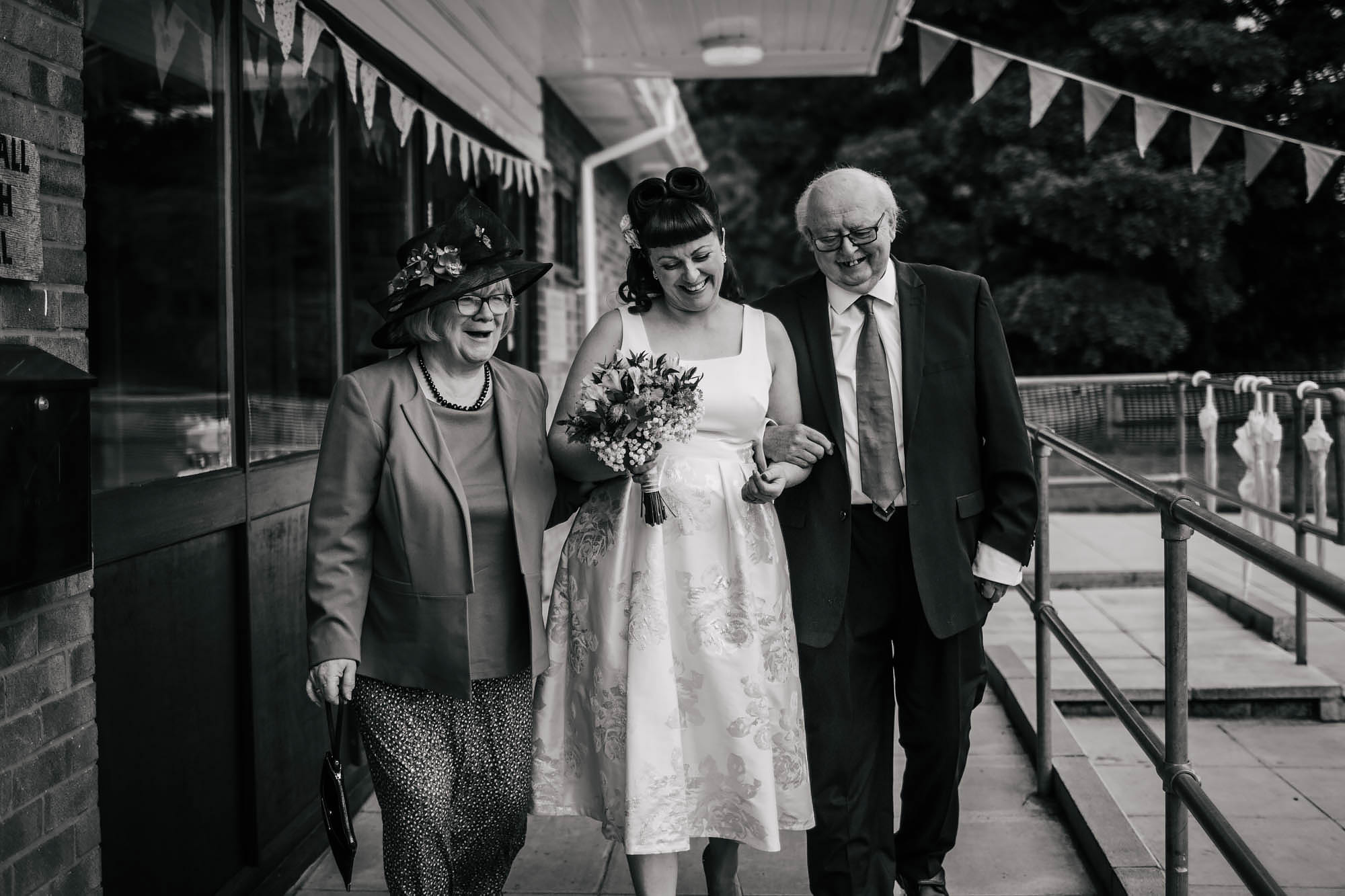 Leeds Yorkshire Wedding Photographer Bride Mother Father