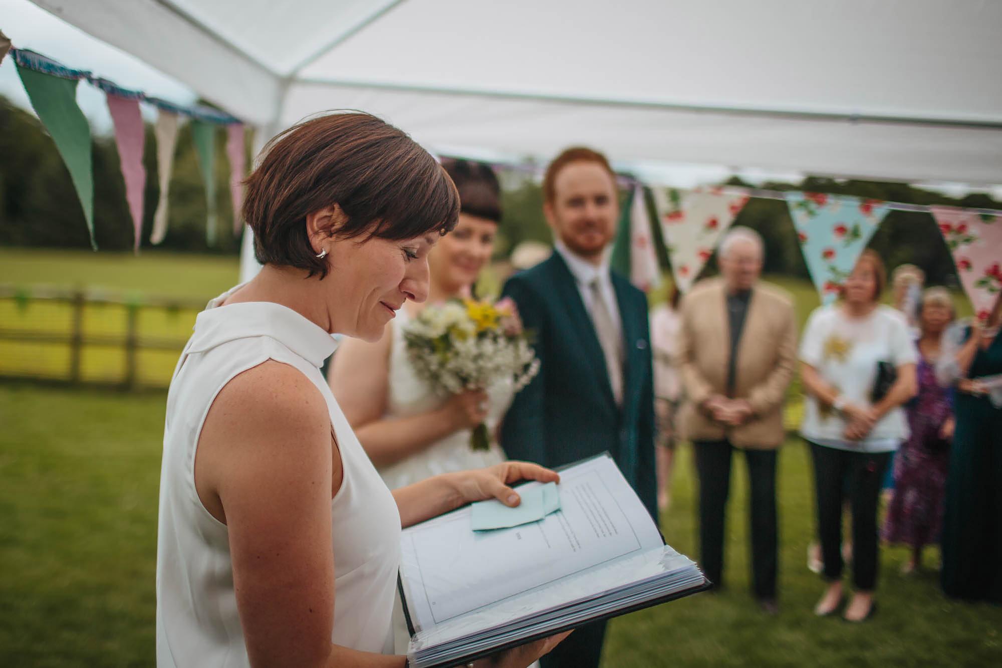 Leeds Yorkshire Wedding Photographer Speaker Speech Sister