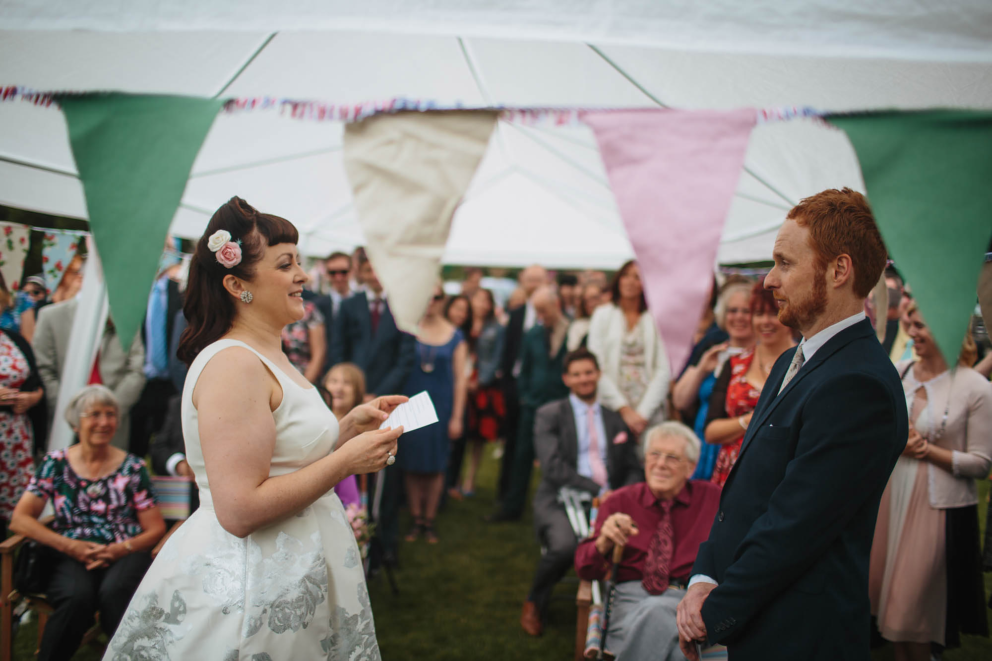 Leeds Yorkshire Wedding Photographer Ceremony Bride