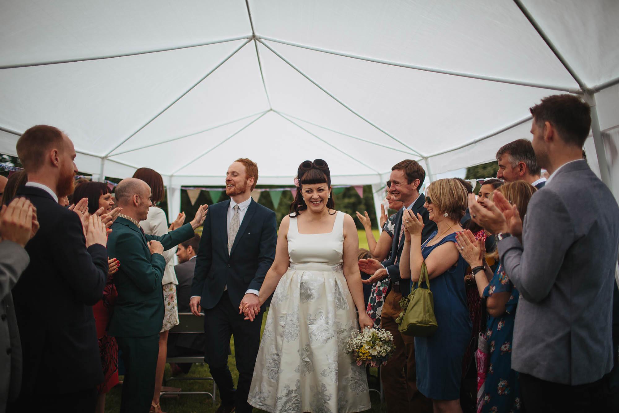 Leeds Yorkshire Wedding Photographer Married Bride Groom Smile