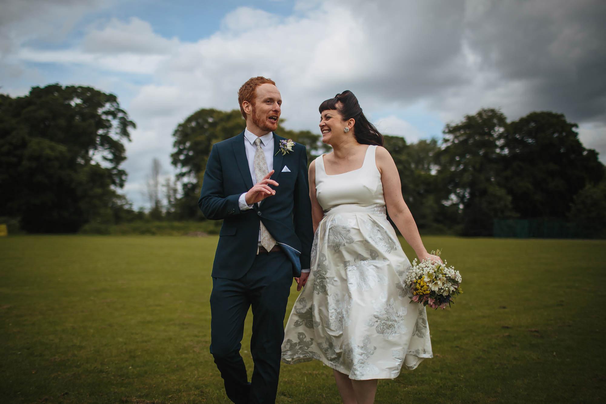 Leeds Yorkshire Wedding Photographer Laughing Portrait