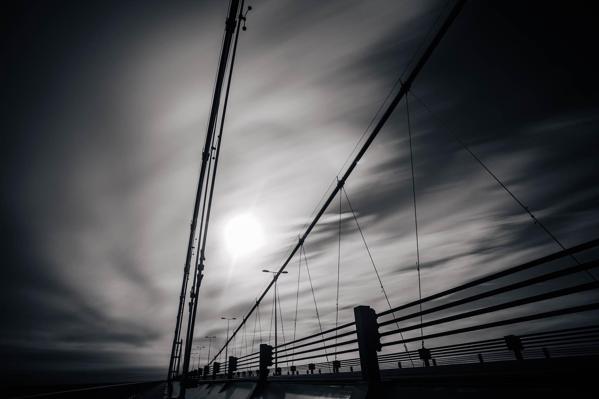 Humber Bridge Sky