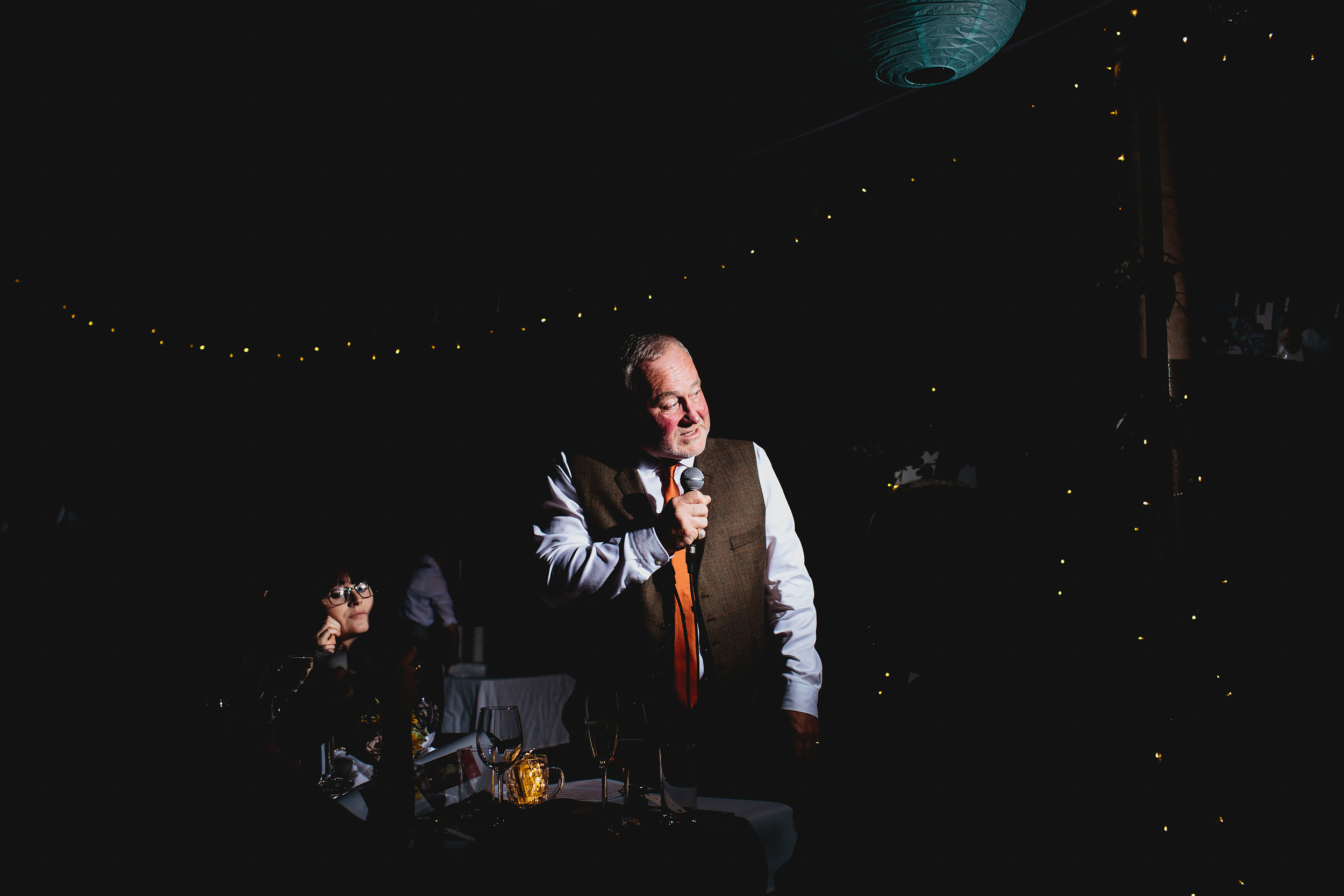 Father of the bride speech at a wedding in Leeds