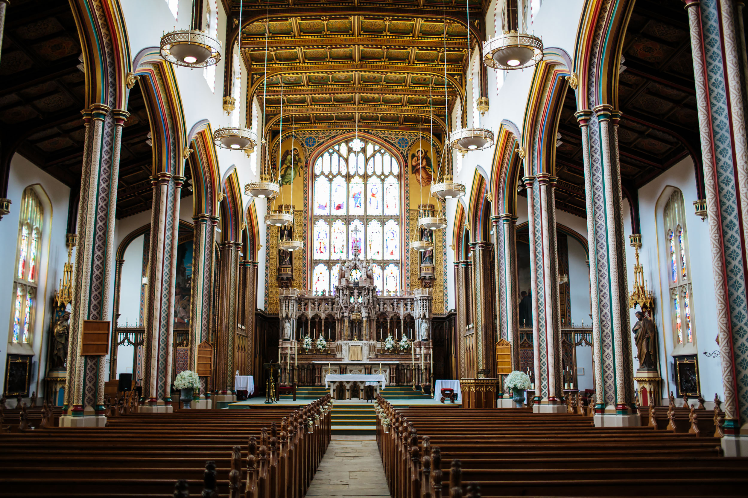 Stonyhurst College Church Wedding in Lancashire