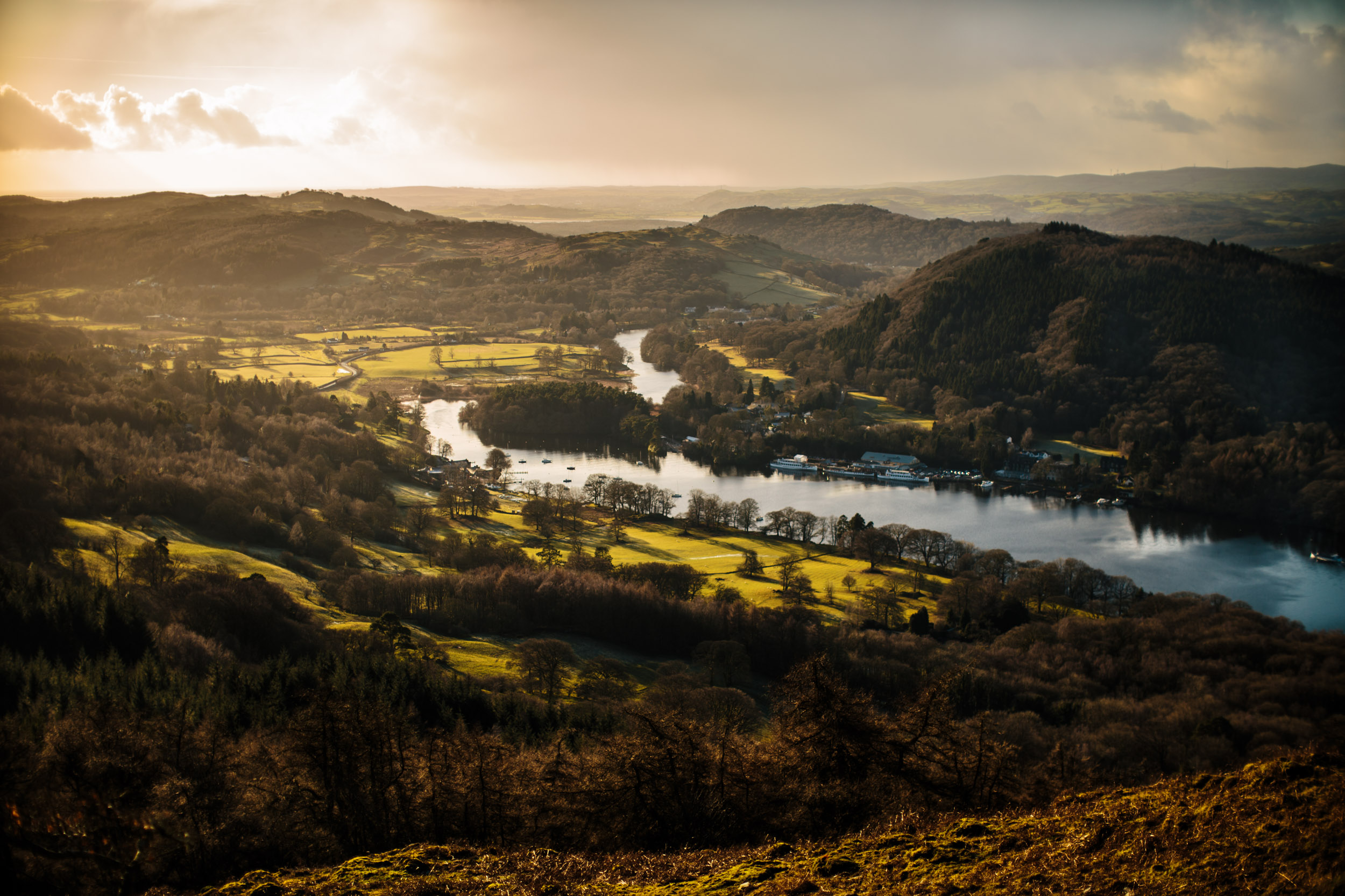 Lake Windermere From Gummer's How