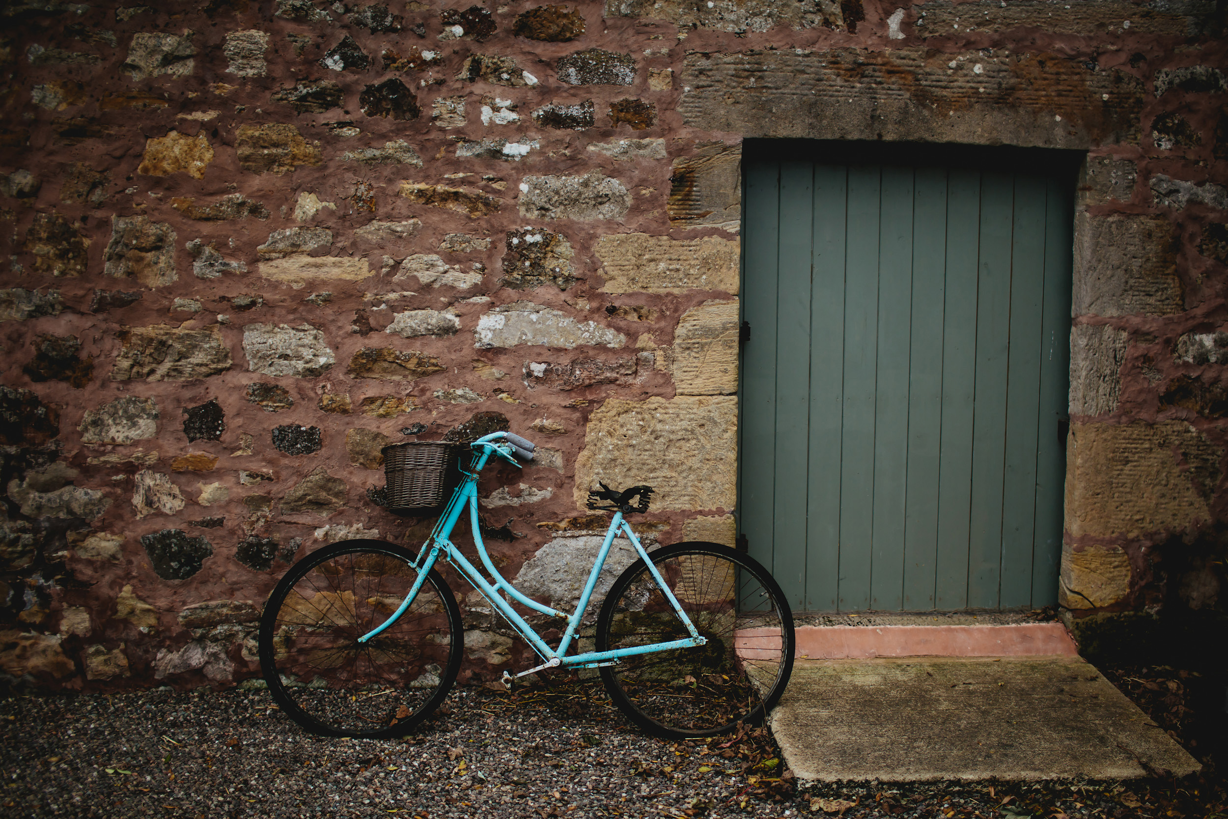 Bicycle at Cow Shed Crail