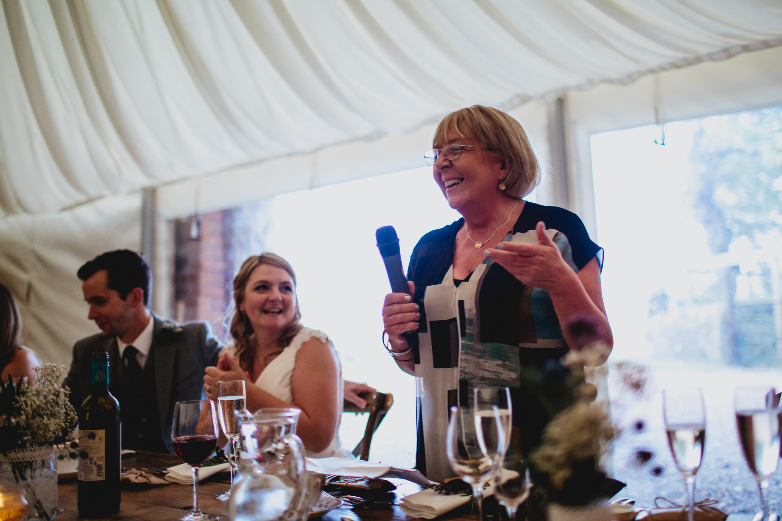 Mother of the bride speech at a Scottish wedding