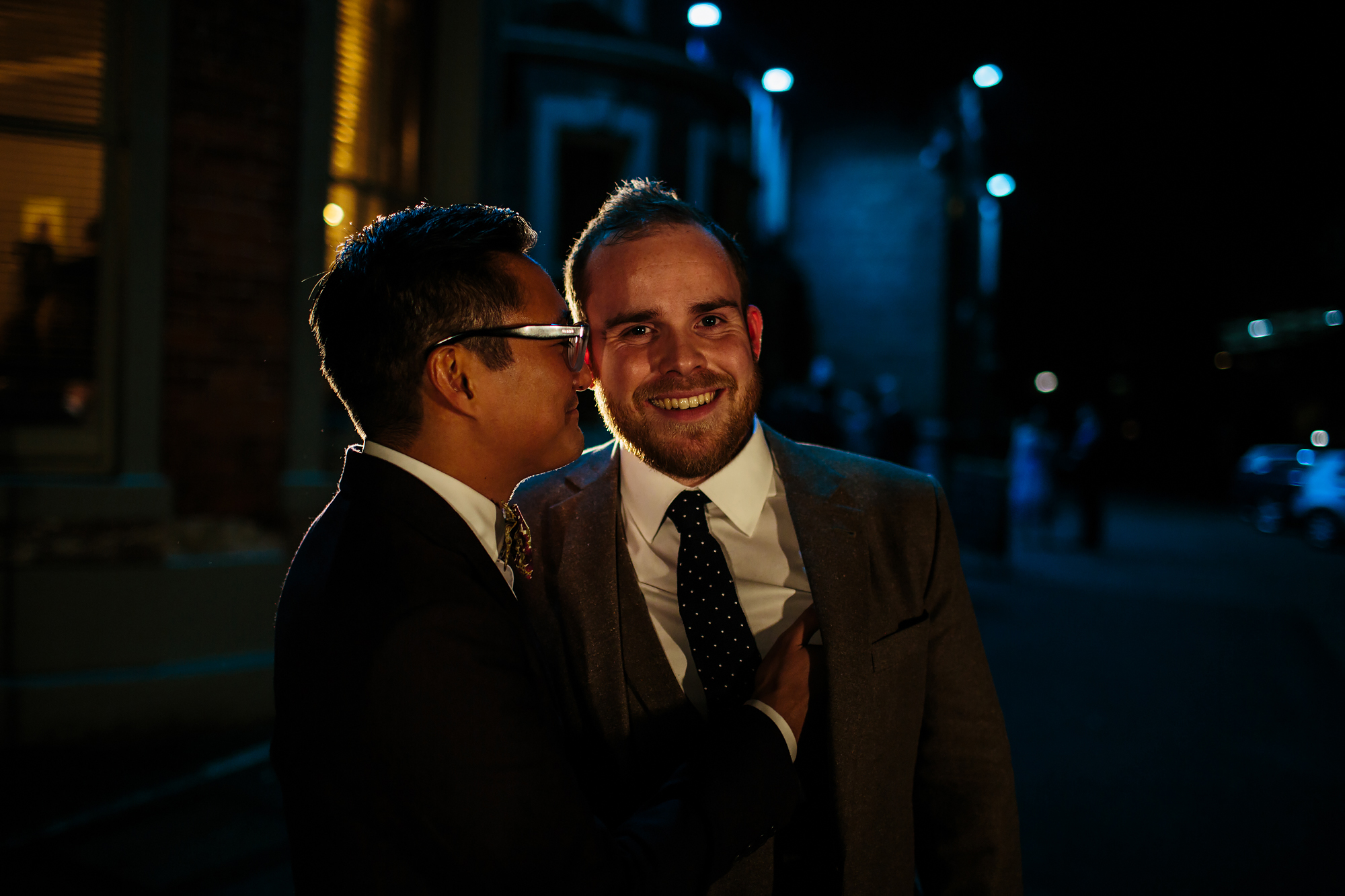 Gay wedding at The Faversham Leeds Yorkshire