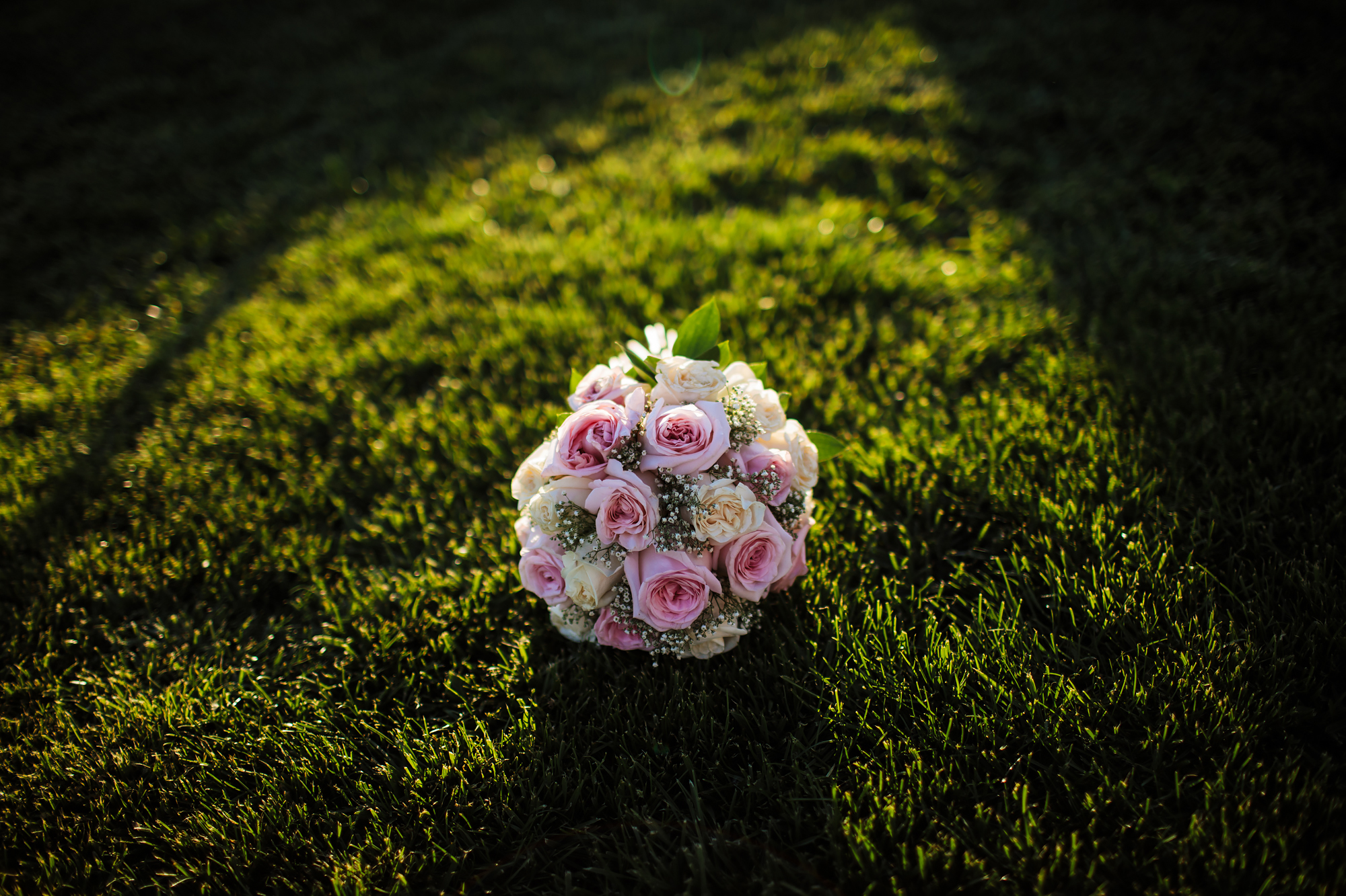 Bride's flower bouquet in Spain