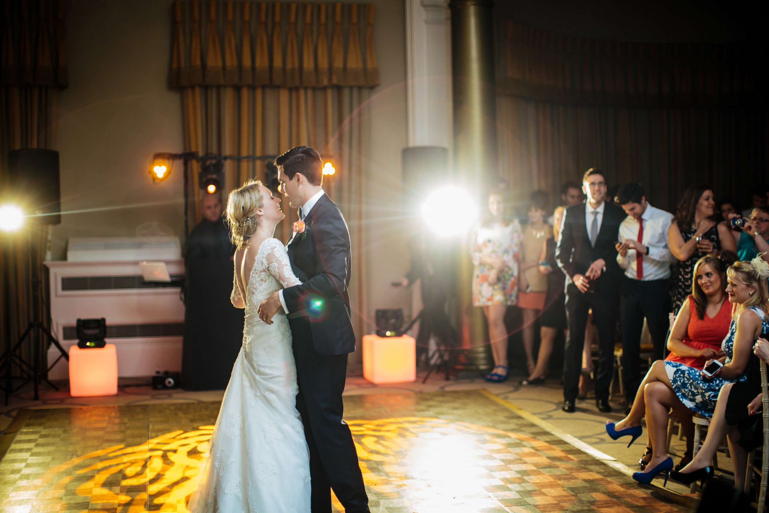 First Dance at a Rudding Park wedding in Harrogate